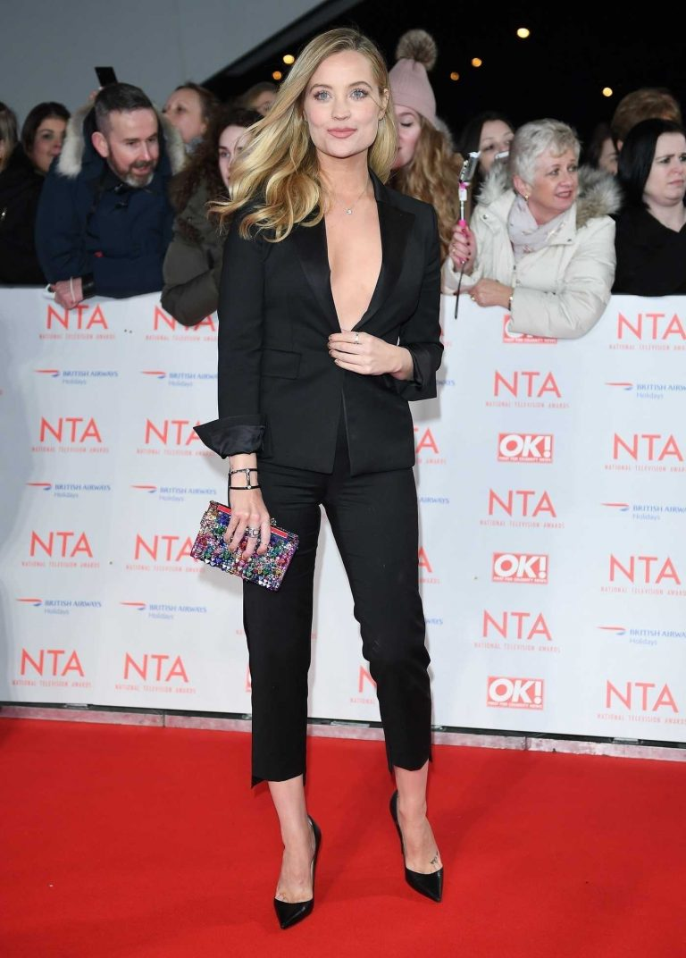 Laura Whitmore at the 24th National Television Awards in London 01/24/2018-1