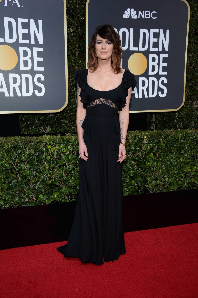Lena Headey at the 75th Annual Golden Globe Awards in Beverly Hills 01/07/2018-1