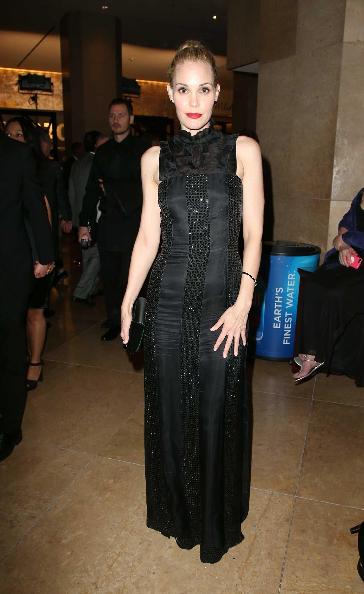 Leslie Bibb at the 75th Annual Golden Globe Awards in Beverly Hills 01/07/2018