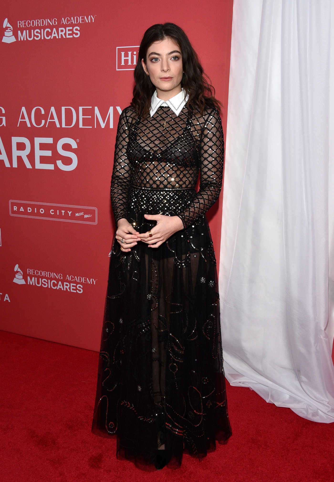 Lorde at the MusiCares Person of the Year Honoring Fleetwood Mac in New York 01/26/2018