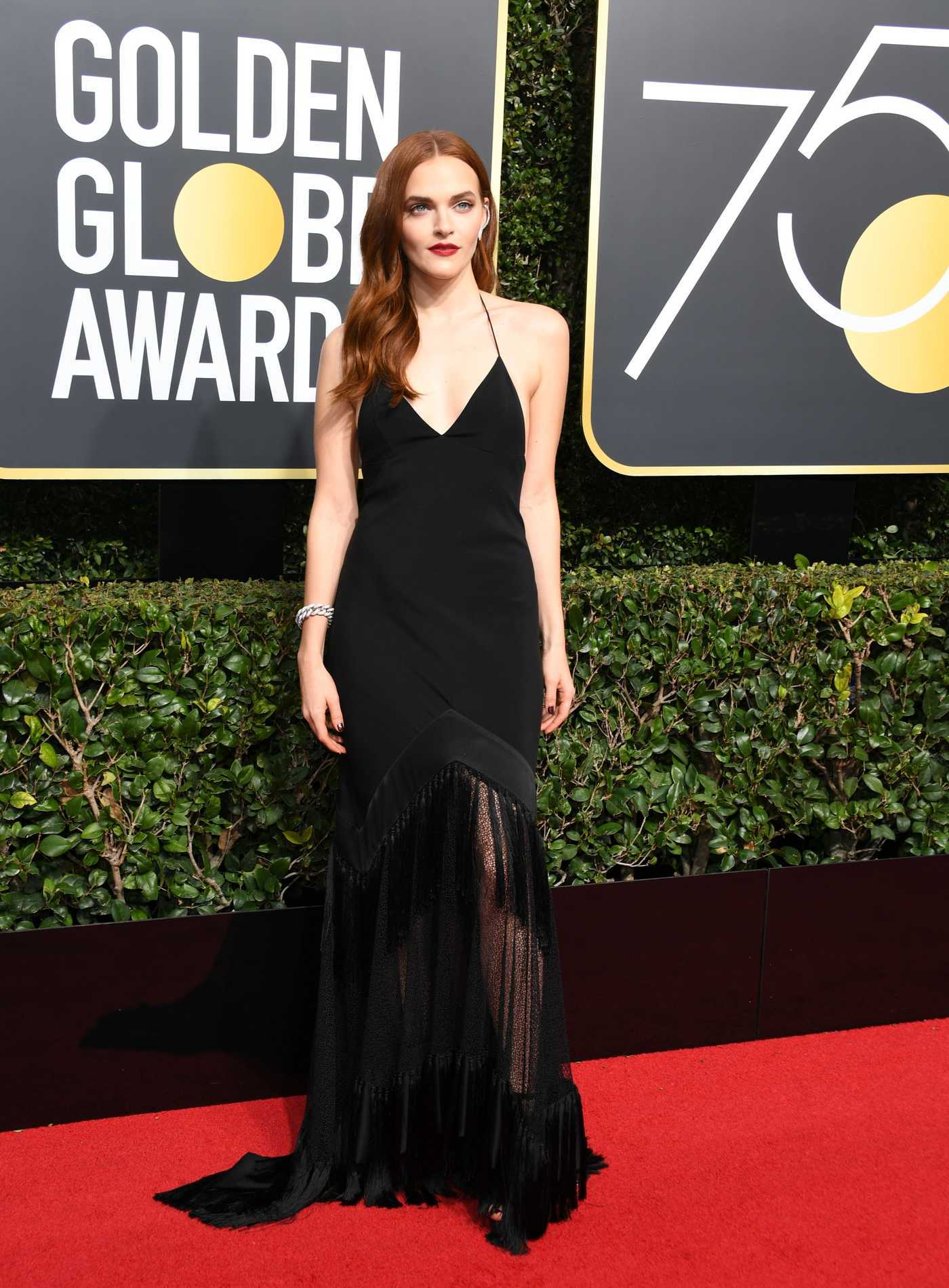 Madeline Brewer at the 75th Annual Golden Globe Awards in Beverly Hills 01/07/2018