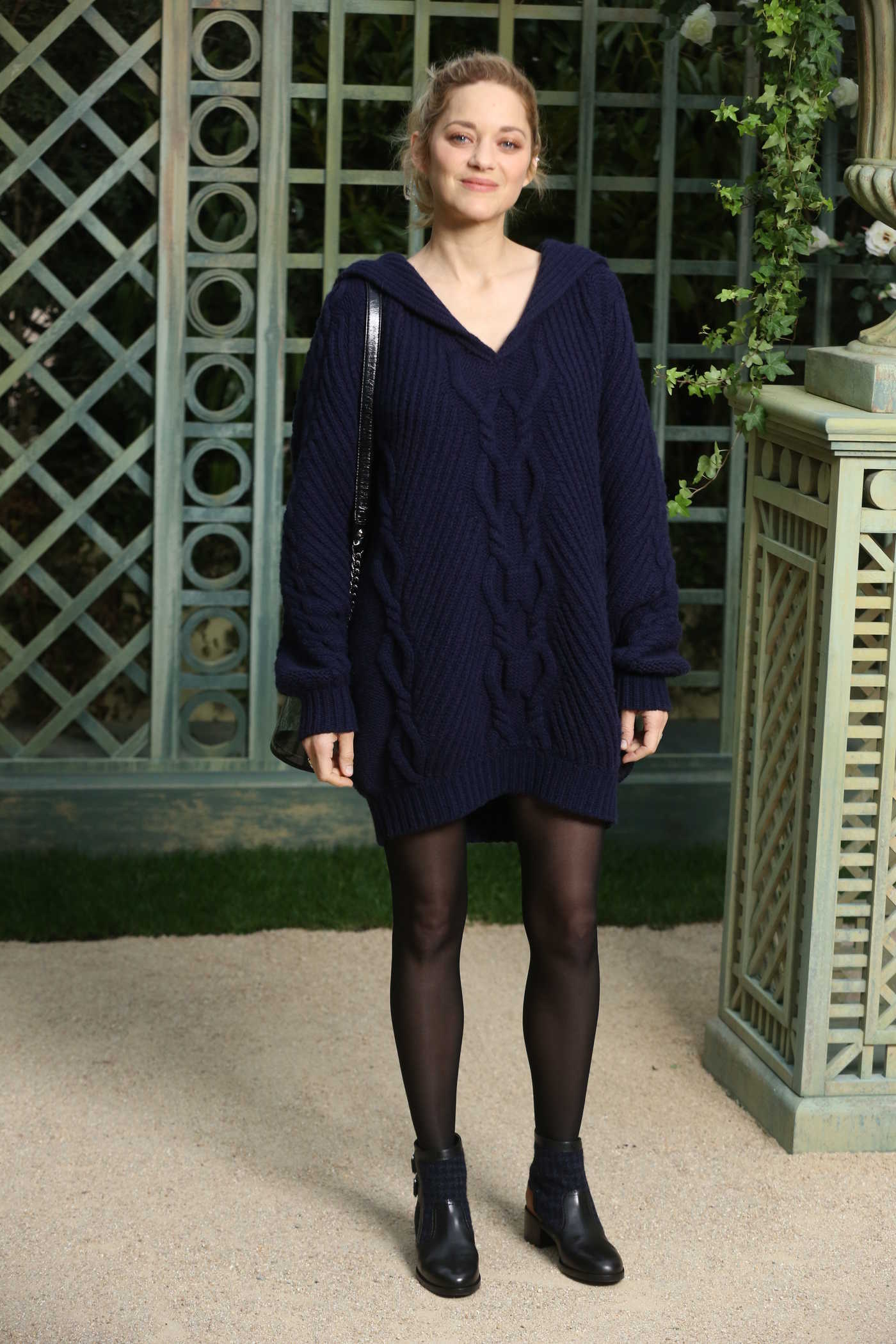 Marion Cotillard at the Chanel Haute Couture 2018 Show During the Paris Fashion Week in Paris 01/23/2018