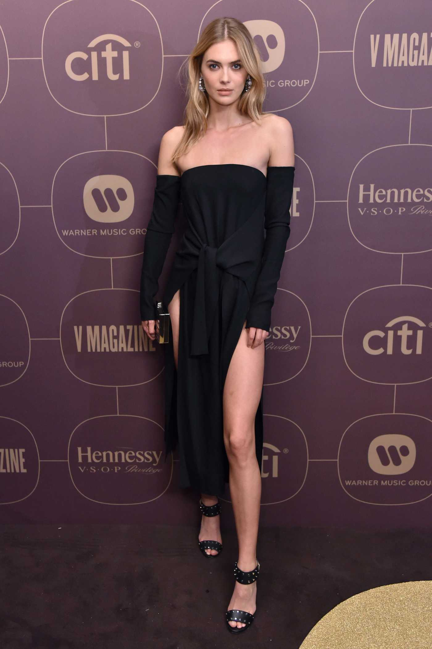 Megan Williams at Warner Music Pre-Grammy Party in New York City 01/25/2018
