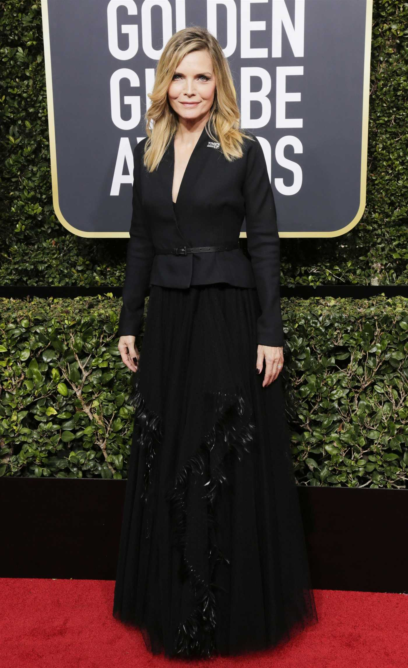 Michelle Pfeiffer at the 75th Annual Golden Globe Awards in Beverly Hills 01/07/2018