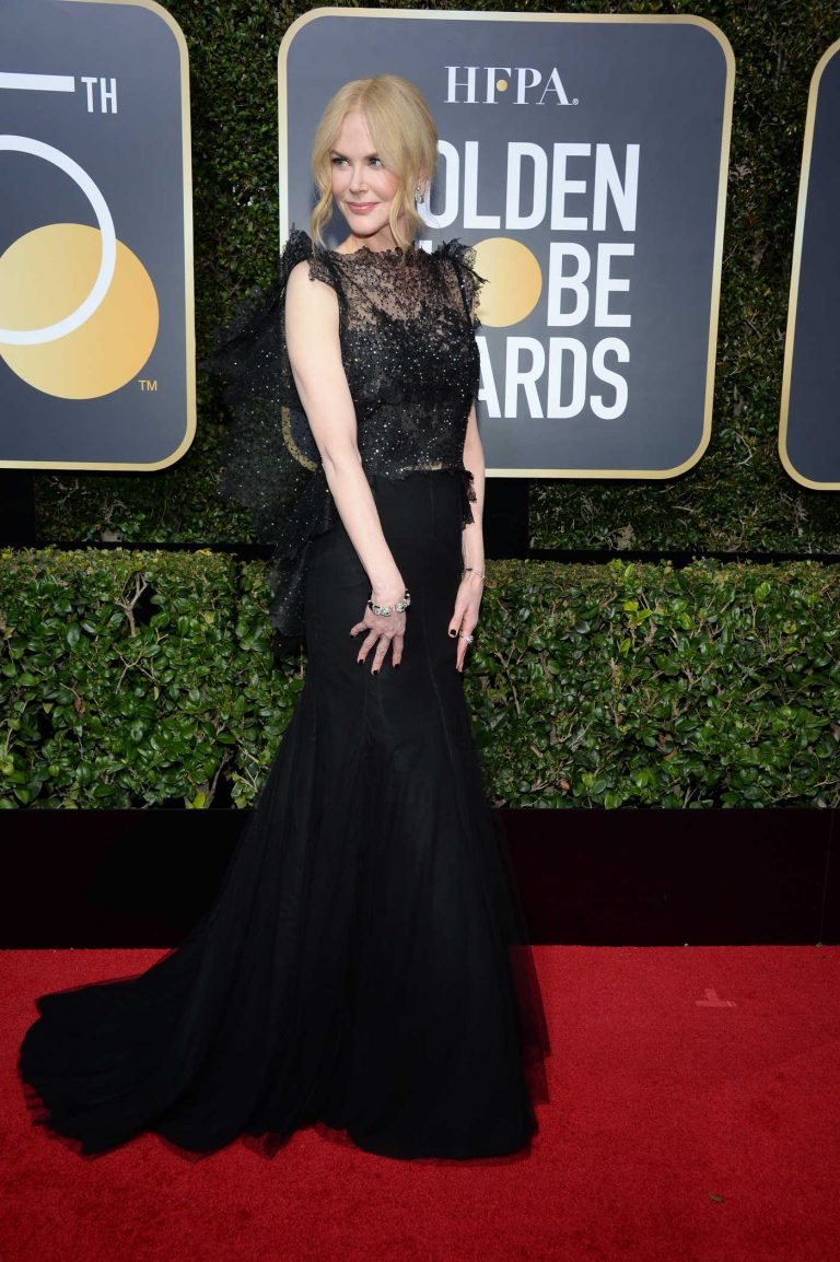 Nicole Kidman at the 75th Annual Golden Globe Awards in Beverly Hills 01/07/2018-1