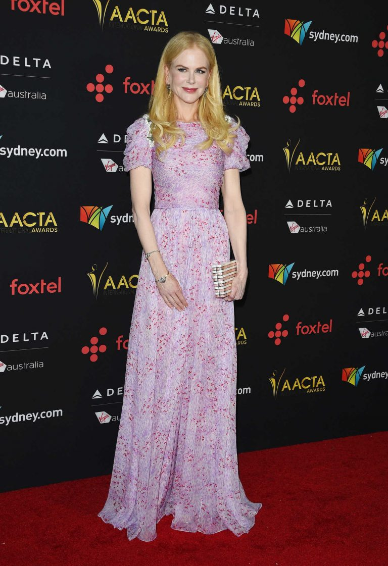 Nicole Kidman at the 7th AACTA International Awards in Los Angeles 01/05/2018-1