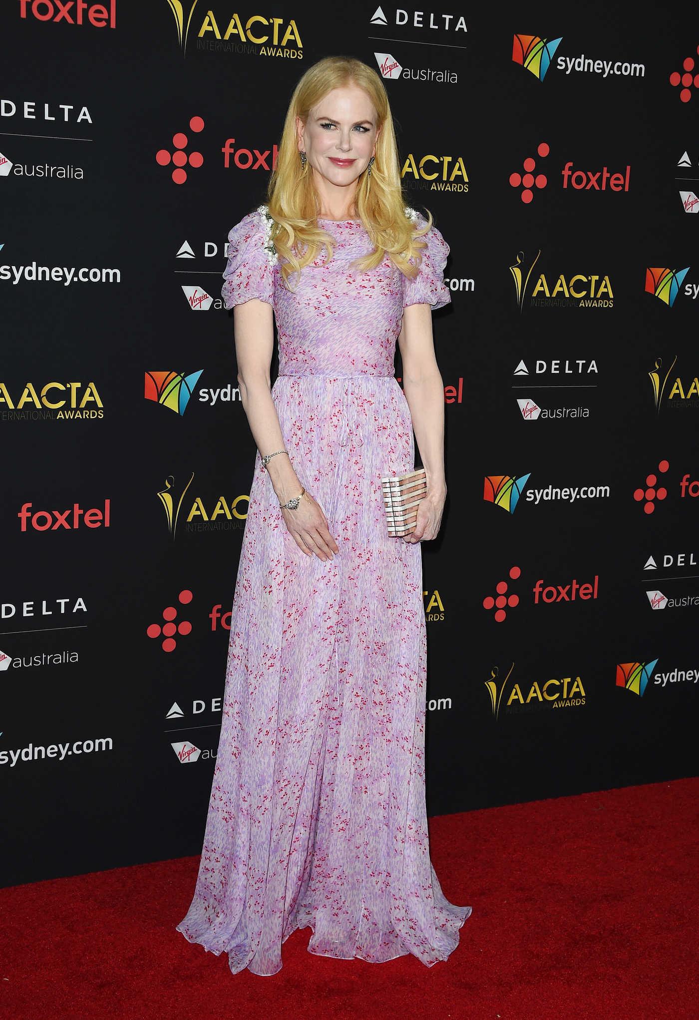 Nicole Kidman at the 7th AACTA International Awards in Los Angeles 01/05/2018