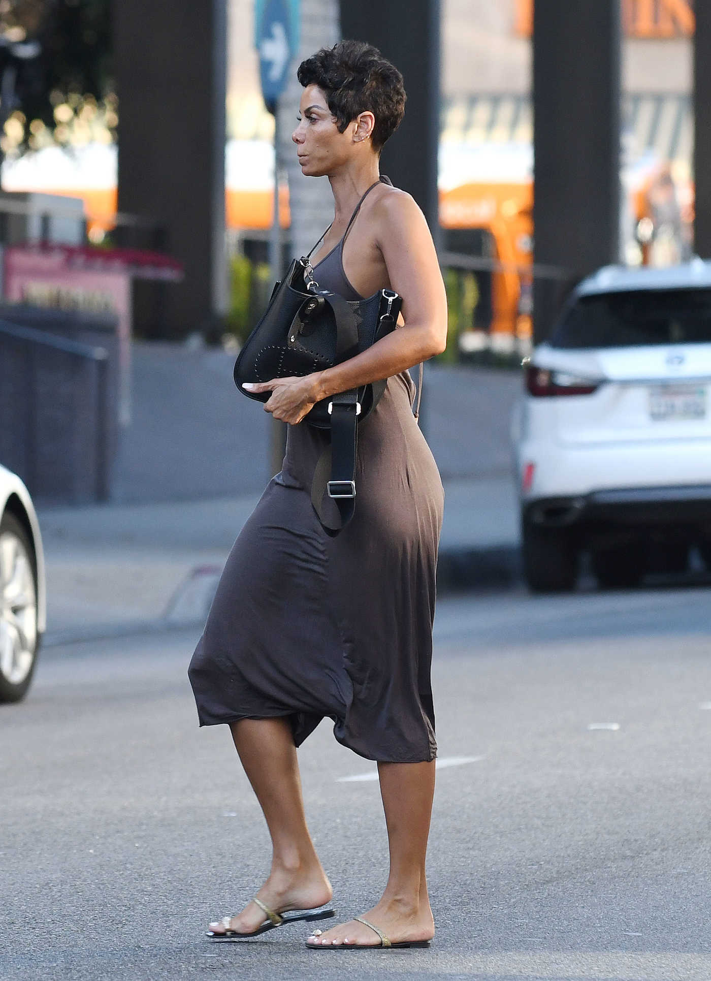 Nicole Murphy Was Seen Out in Beverly Hills 12/29/2017
