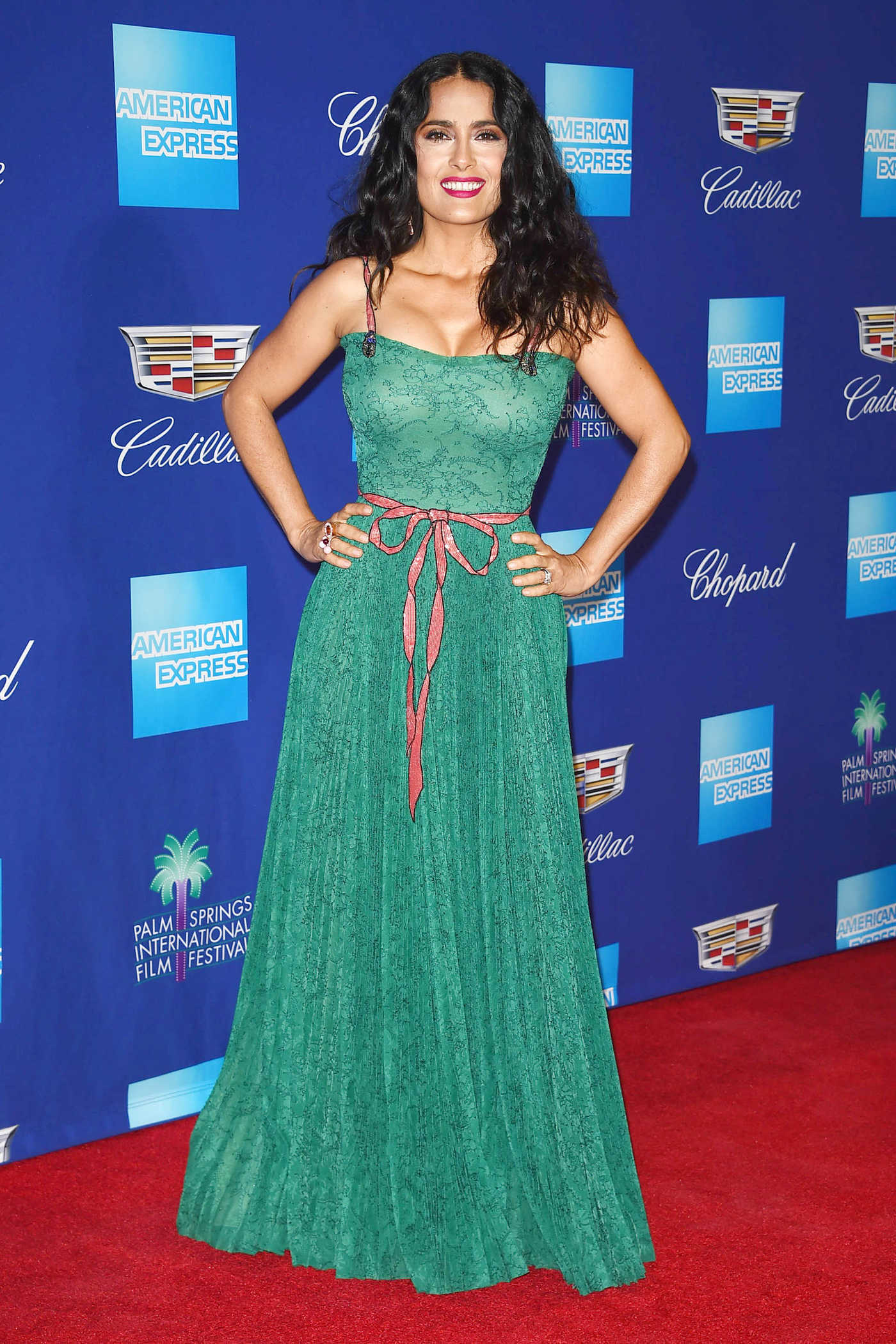 Salma Hayek at the 29th Annual Palm Springs International Film Festival Awards Gala in Palm Springs 01/02/2018