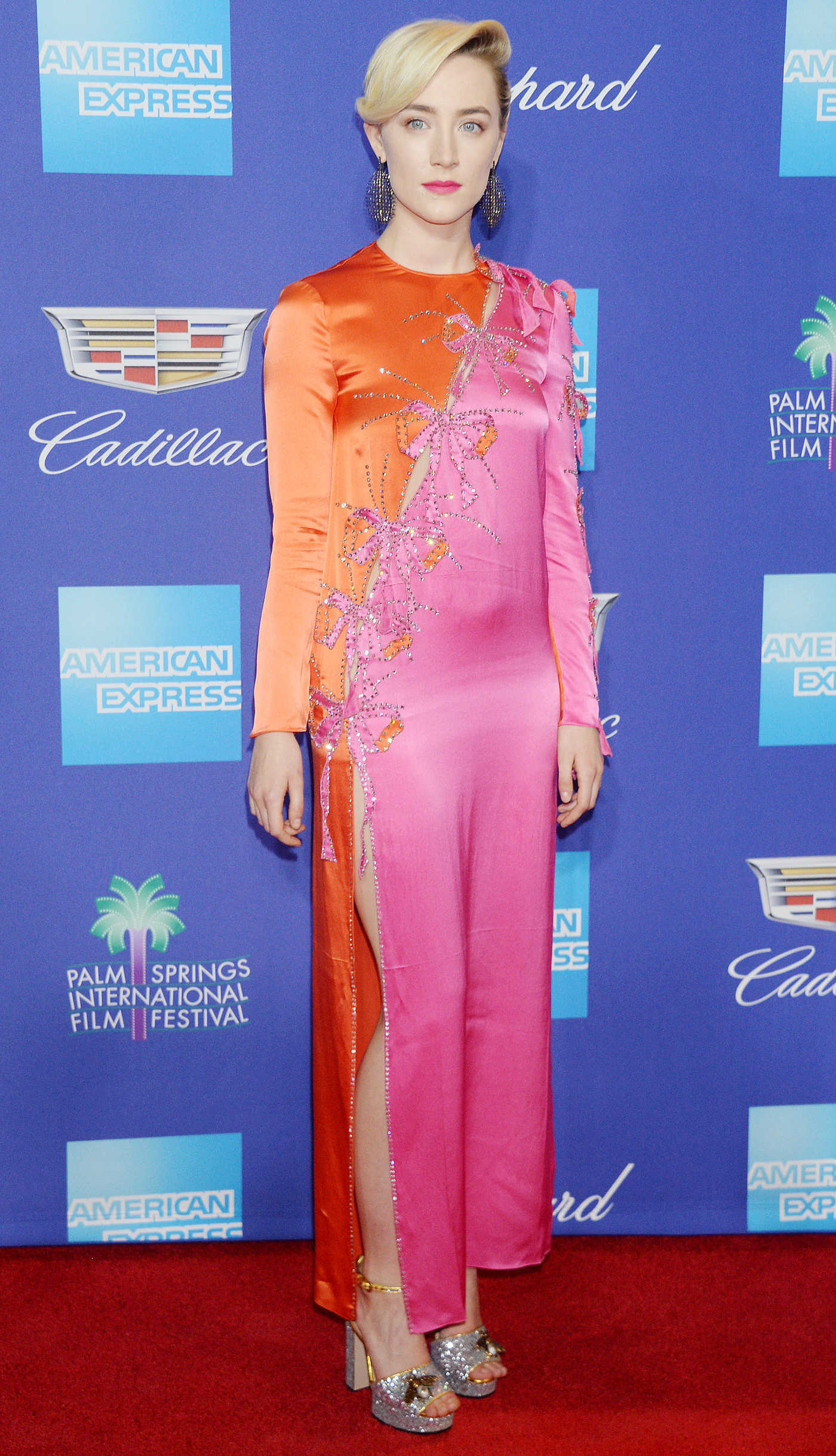 Saoirse Ronan at the 29th Annual Palm Springs International Film Festival Awards Gala in Palm Springs 01/02/2018