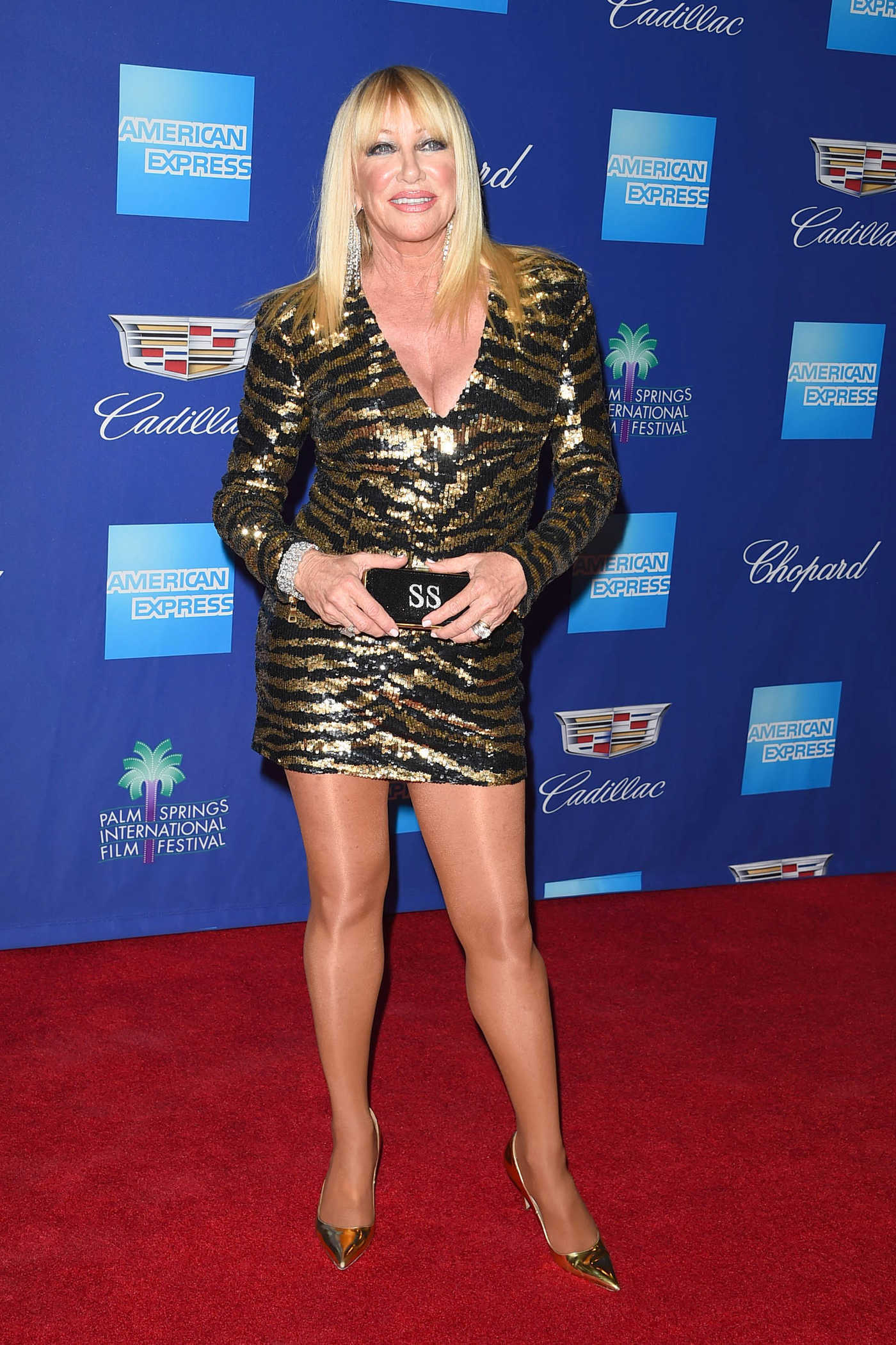 Suzanne Somers at the 29th Annual Palm Springs International Film Festival Awards Gala in Palm Springs 01/02/2018