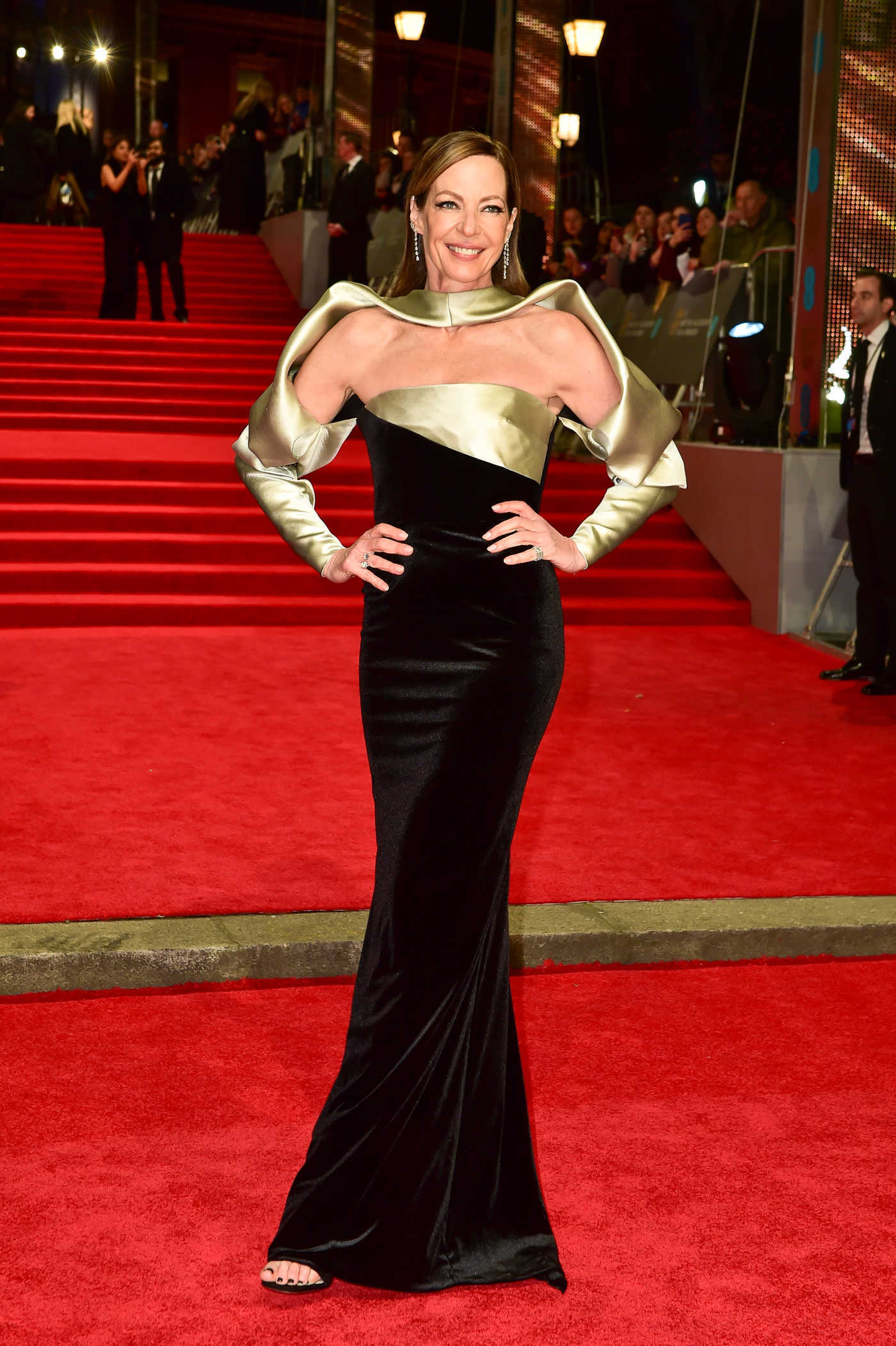 Allison Janney at the 71st British Academy Film Awards at Royal Albert Hall in London 02/18/2018