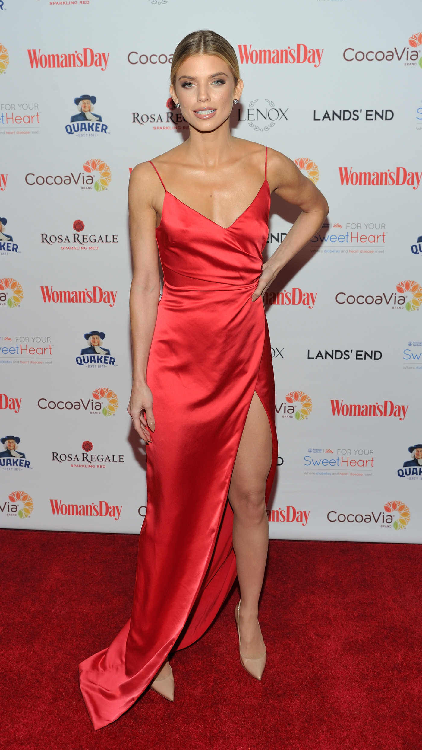 AnnaLynne McCord at the Woman's Day 15th Annual Red Dress Awards at Jazz at Lincoln Center in New York 02/06/2018