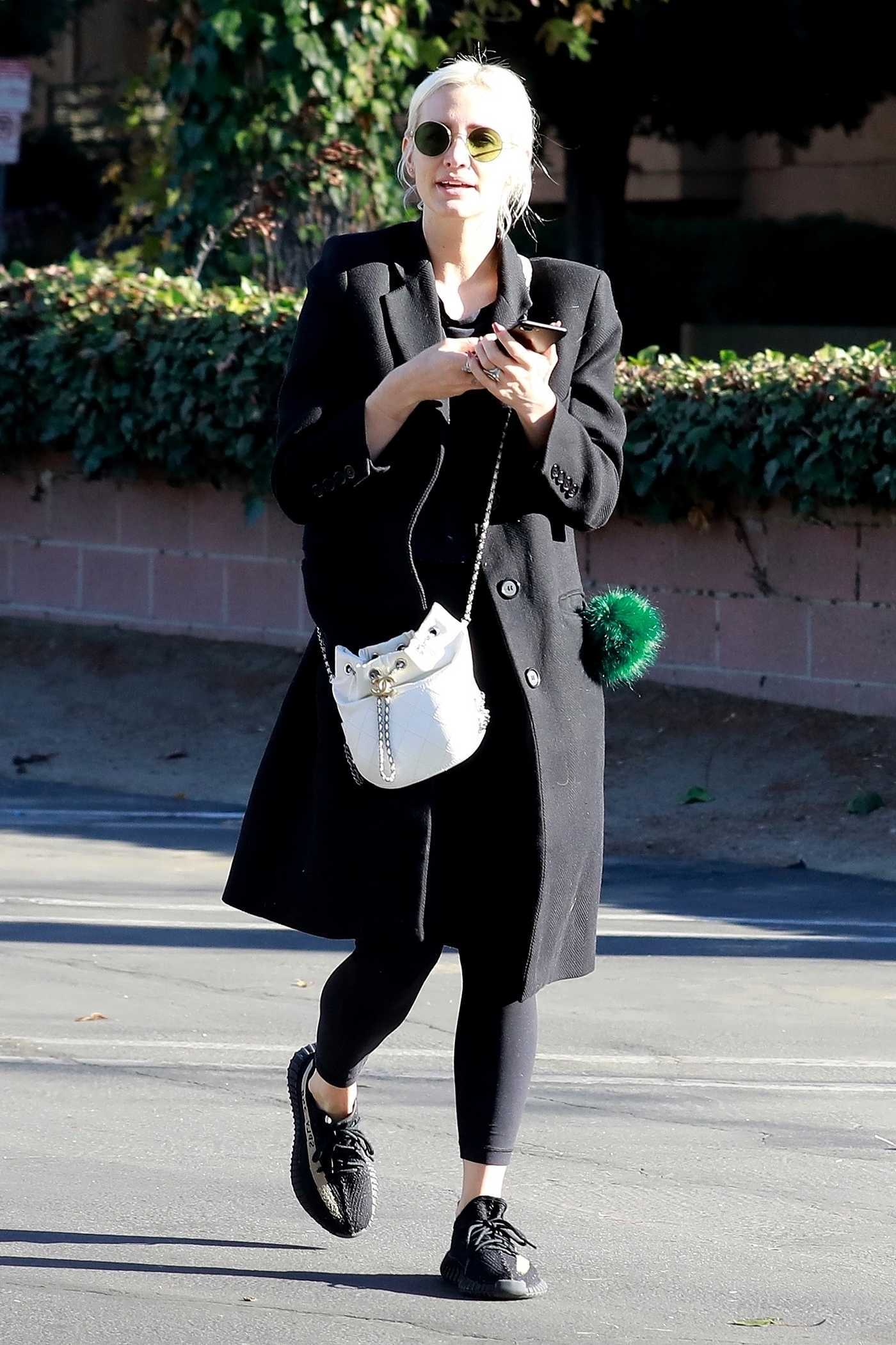 Ashlee Simpson Was Spotted Out in Studio City 02/04/2018