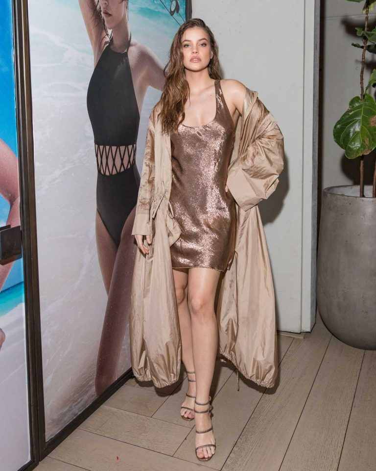 Barbara Palvin at the Solid and Striped Swim Team Launch in New York City 02/06/2018-1