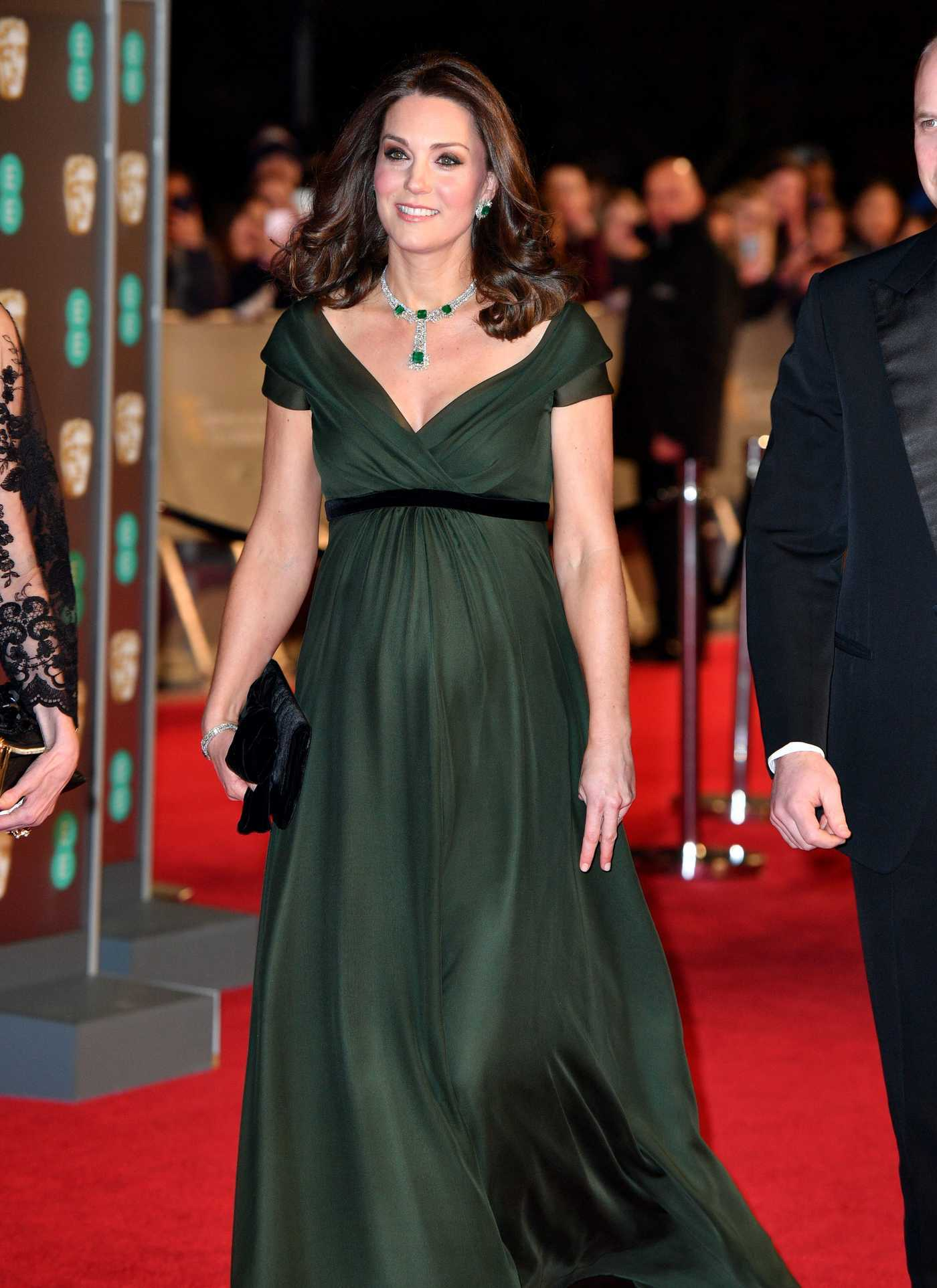 Catherine Duchess of Cambridge at the 71st British Academy Film Awards at Royal Albert Hall in London 02/18/2018