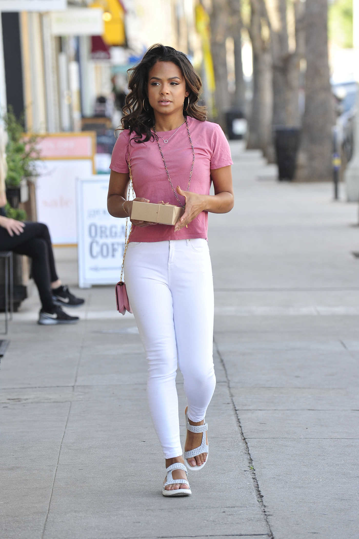 Christina Milian Was Spotted Out in Los Angeles 02/15/2018