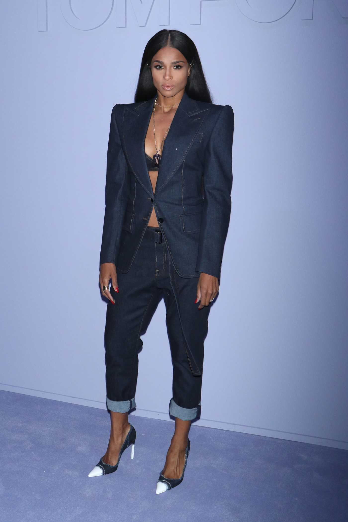 Ciara at 2018 Tom Ford Fashion Show During New York Fashion Week in New York 02/06/2018