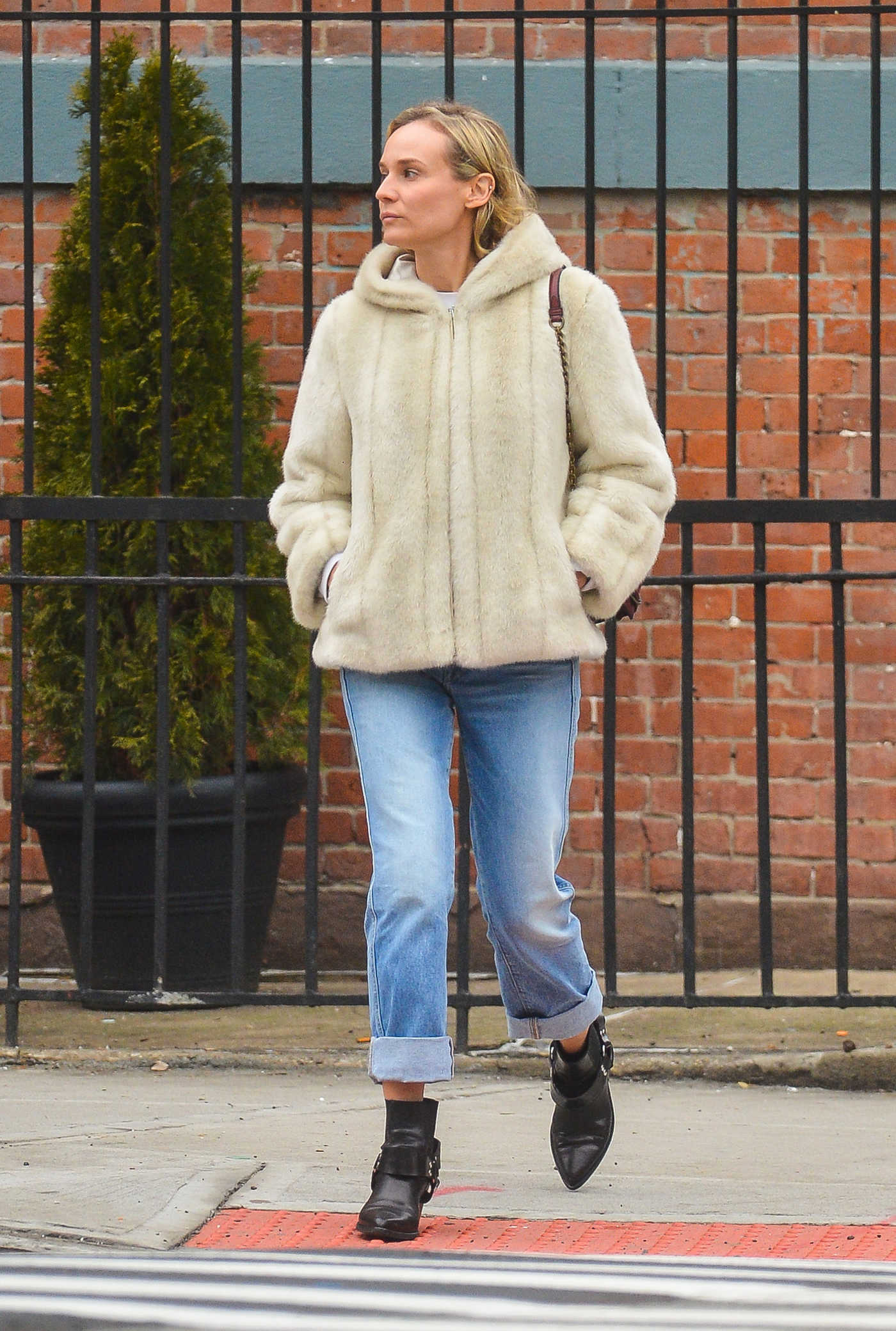Diane Kruger Was Spotted Out in New York City 02/15/2018