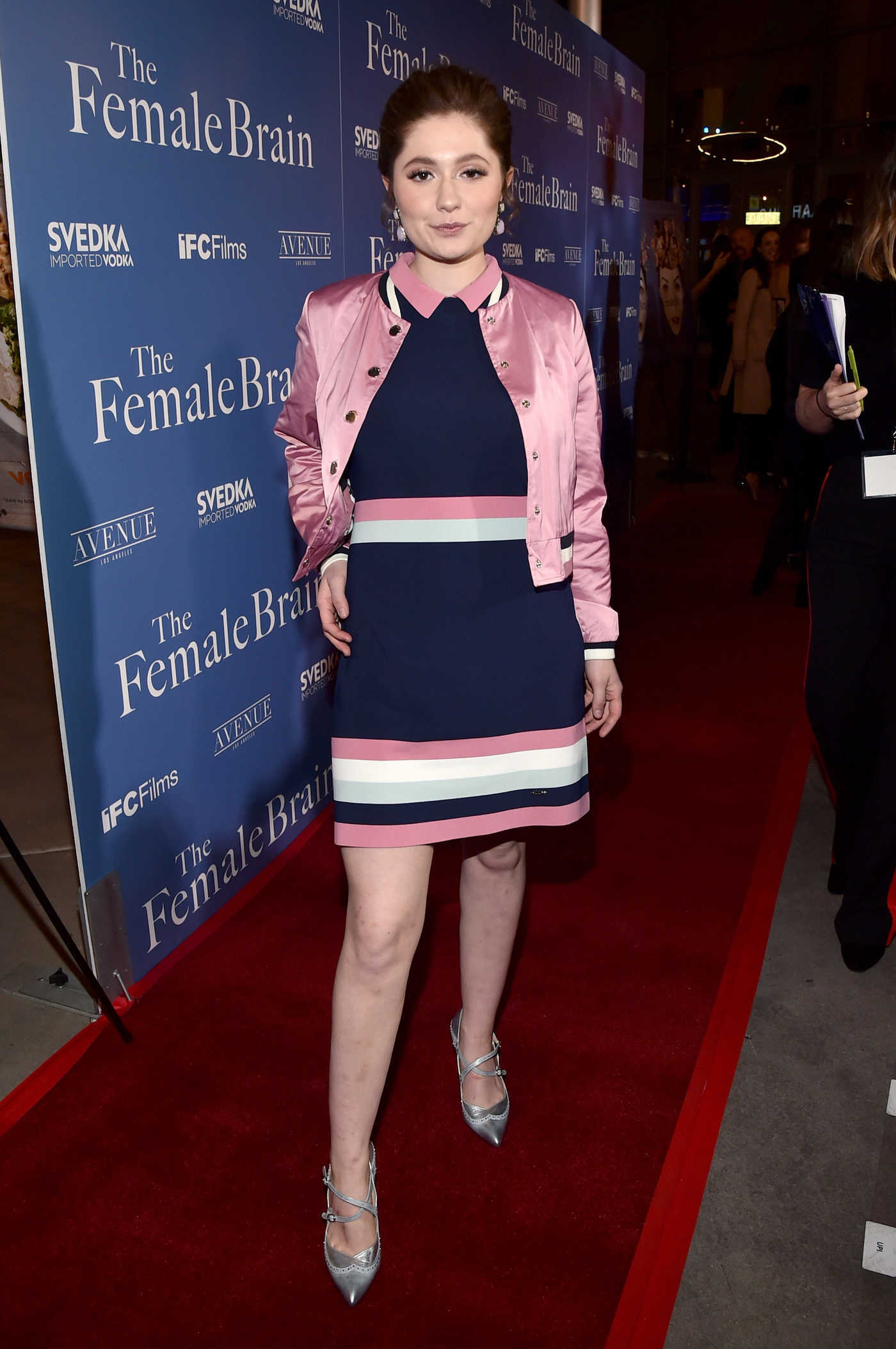 Emma Kenney at The Female Brain Premiere in Los Angeles 02/01/2018