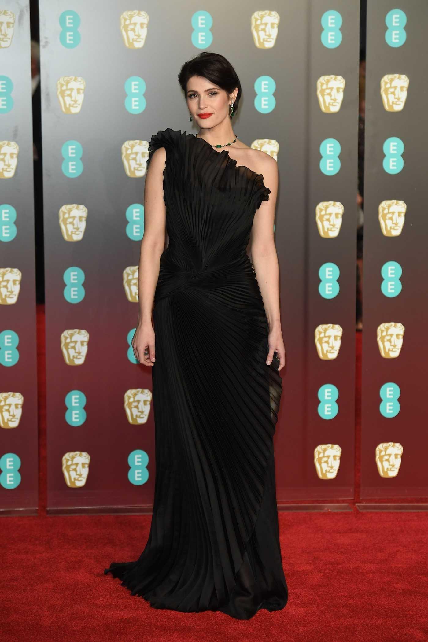 Gemma Arterton at the 71st British Academy Film Awards at Royal Albert Hall in London 02/18/2018