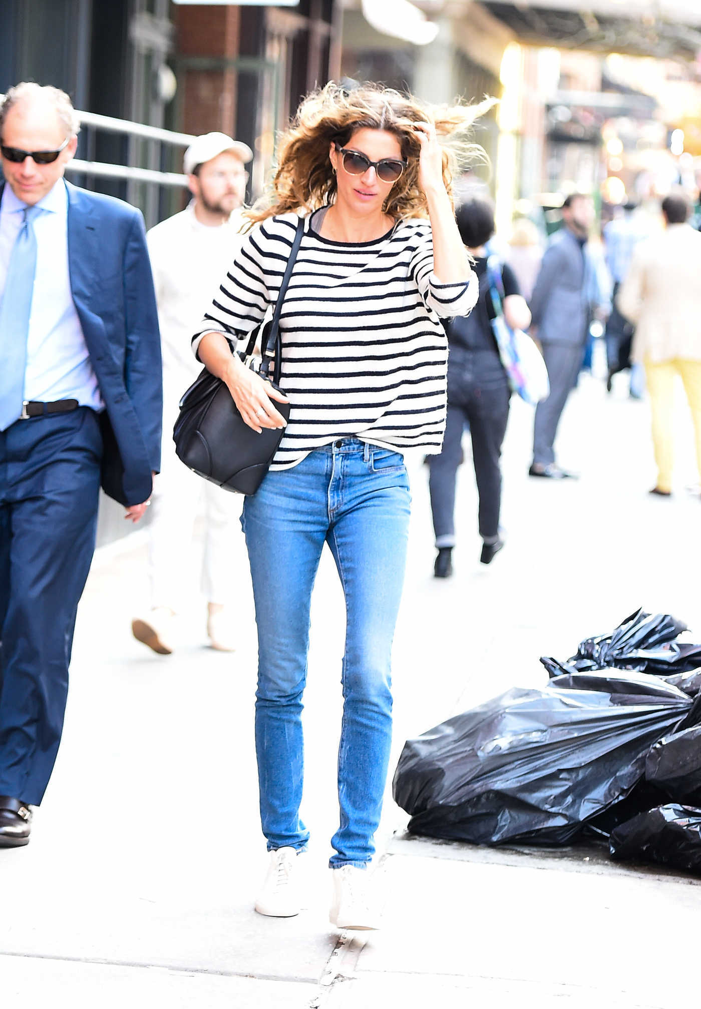 Gisele Bundchen Was Seen Out in Tribeca, New York 02/21/2018