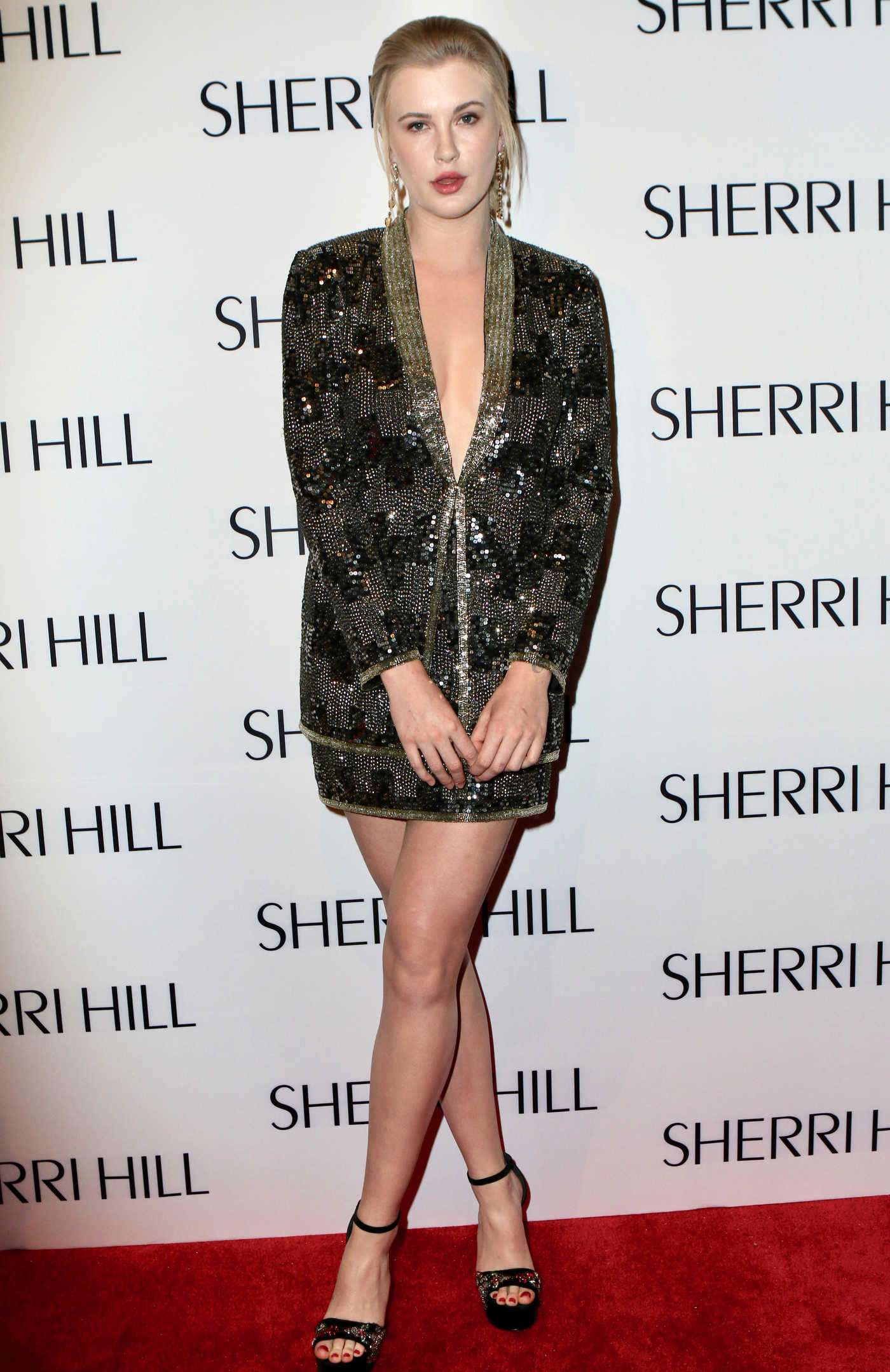 Ireland Baldwin at the Sherri Hill Fashion Show During New York Fashion Week in New York City 02/08/2018