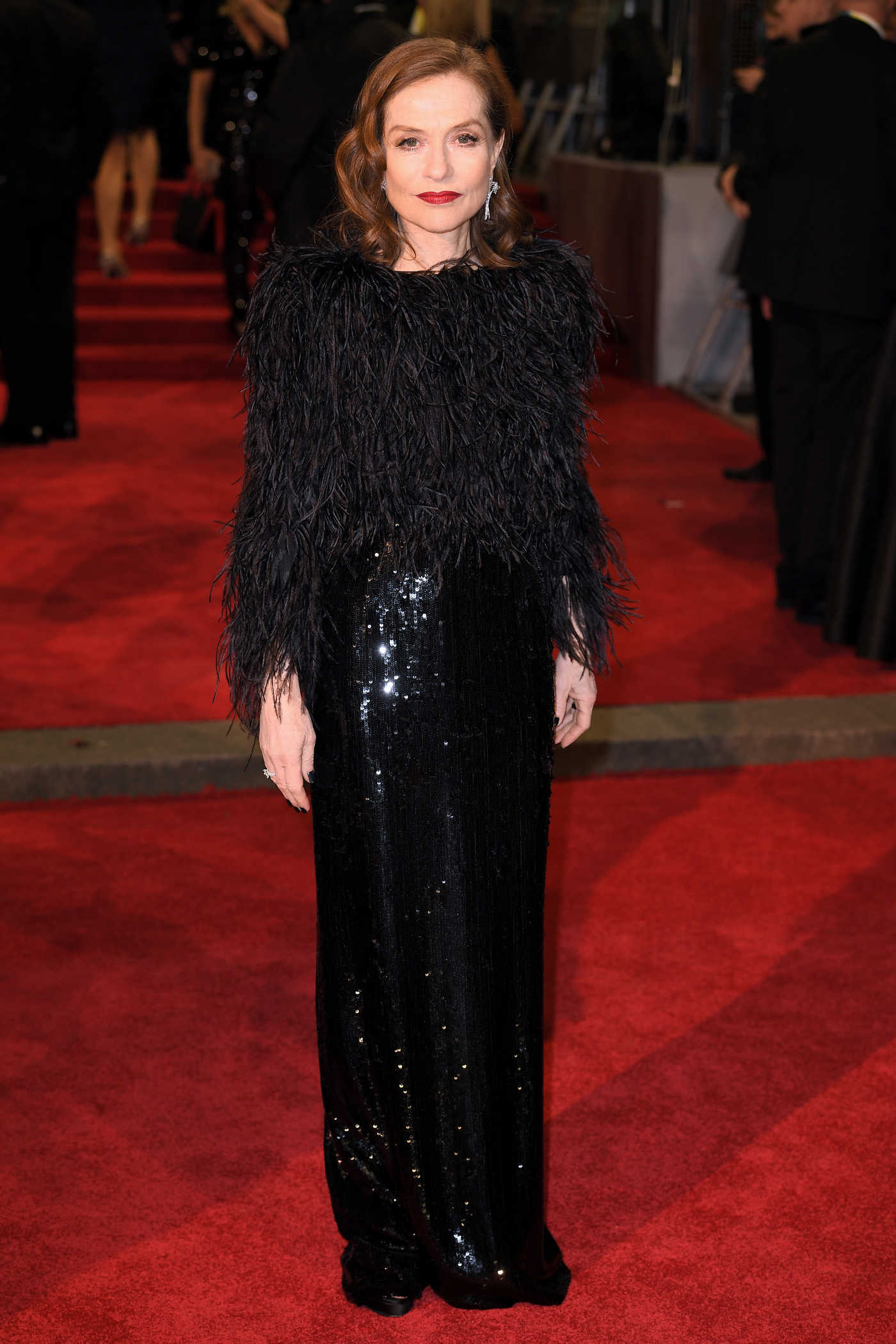 Isabelle Huppert at the 71st British Academy Film Awards at Royal Albert Hall in London 02/18/2018
