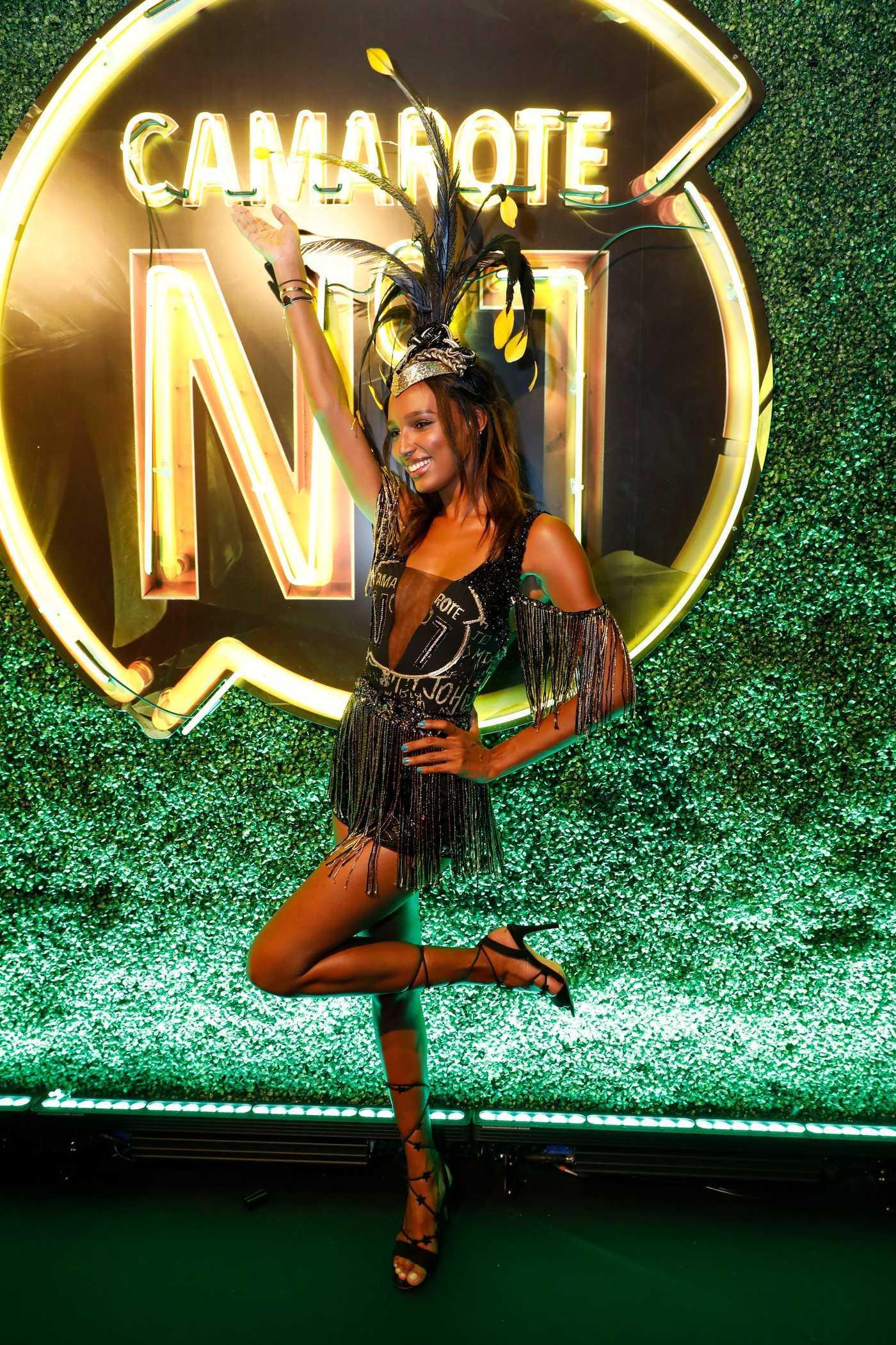 Jasmine Tookes at the Rio de Janeiro's Carnaval 02/12/2018