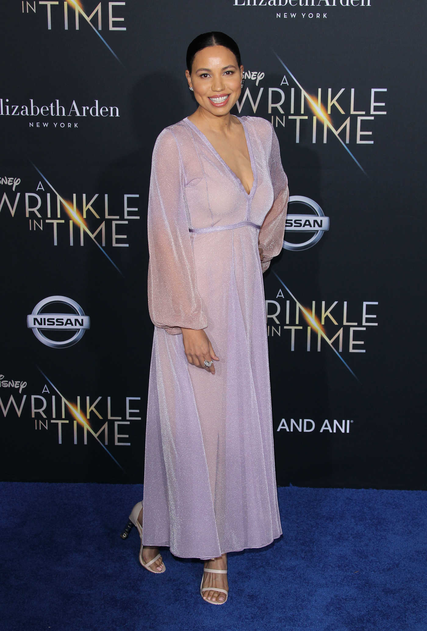 Jurnee Smollett-Bell at A Wrinkle in Time Premiere in Los Angeles 02/26/2018