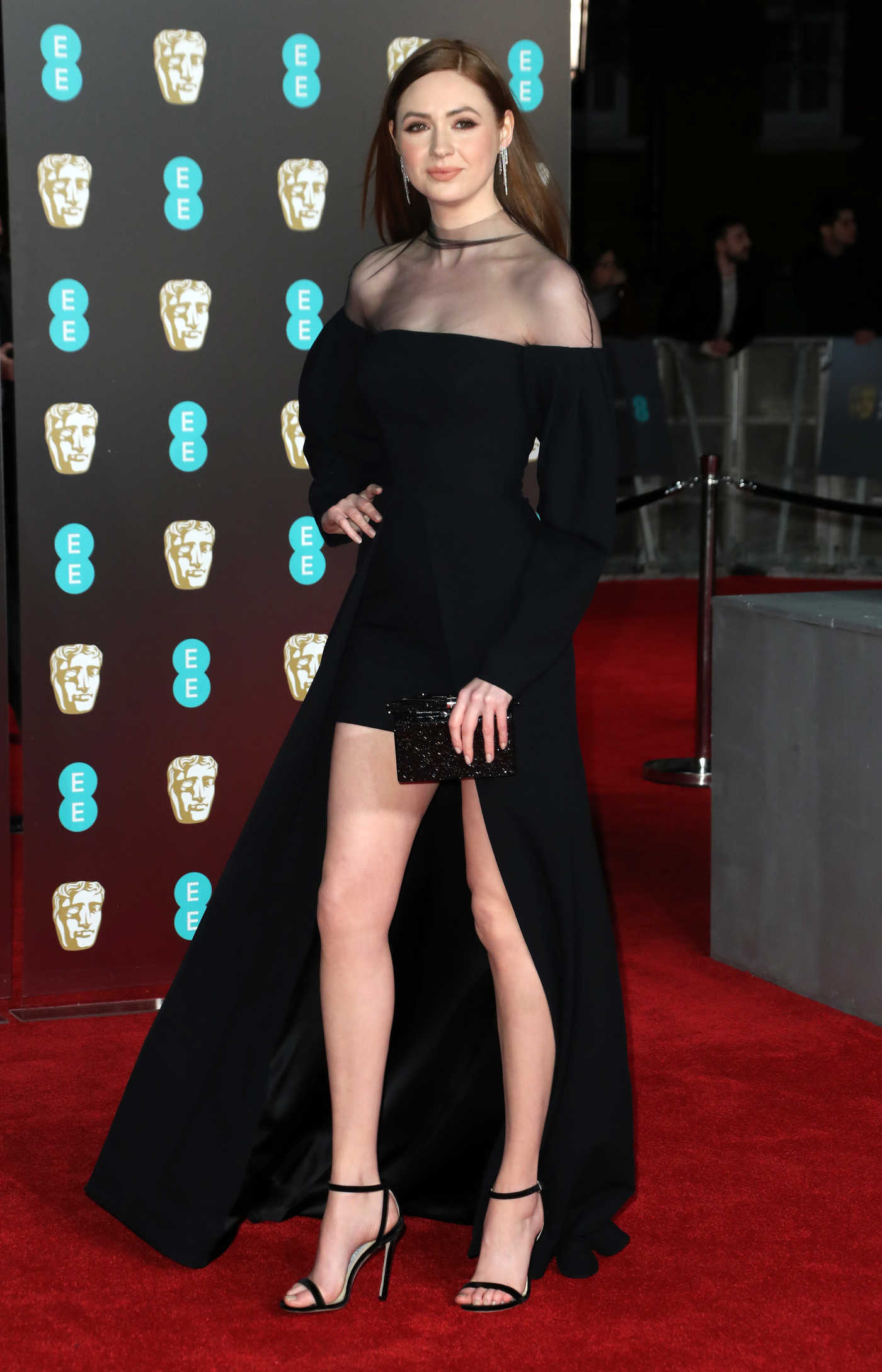 Karen Gillan at the 71st British Academy Film Awards at Royal Albert Hall in London 02/18/2018