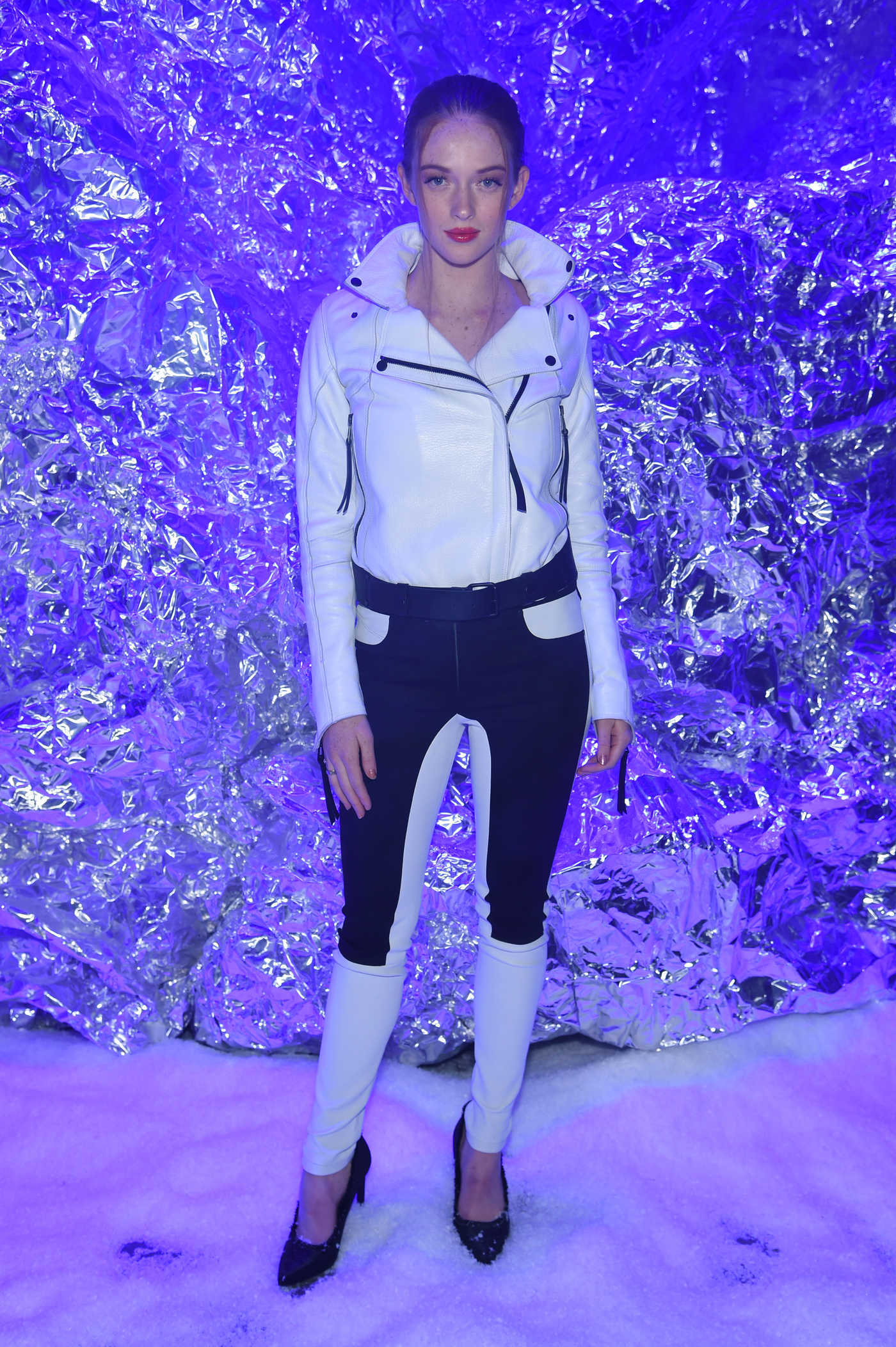 Larsen Thompson at the Philipp Plein Fashion Show During New York Fashion Week in New York City 02/10/2018