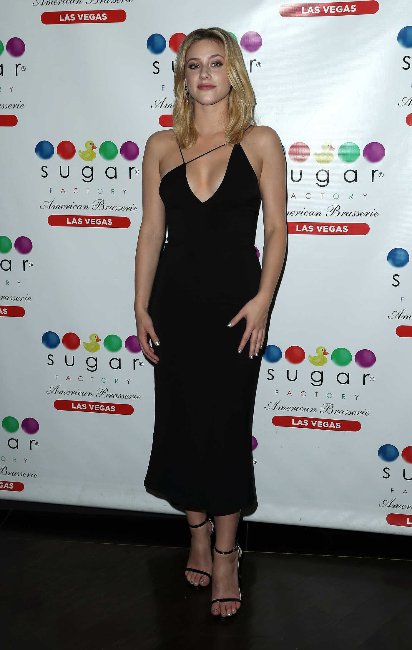 Lili Reinhart at Ocean Drive Magazine Celebrates Its February Issue with Cover Star Lili Reinhart at Sugar Factory in Las Vegas 02/10/2018