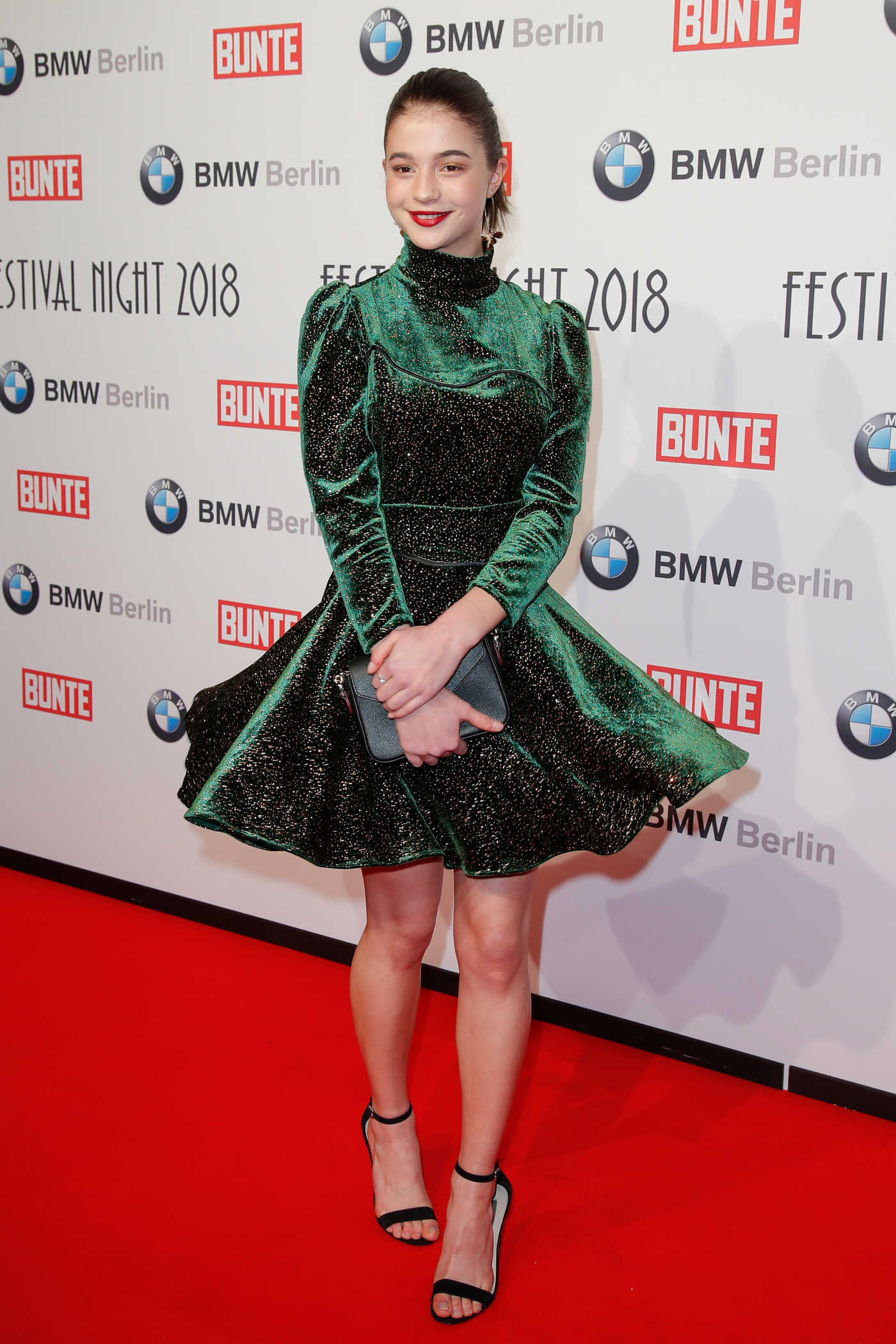 Lisa-Marie Koroll at the BMW Festival Night at the Berlinale in Berlin 02/16/2018