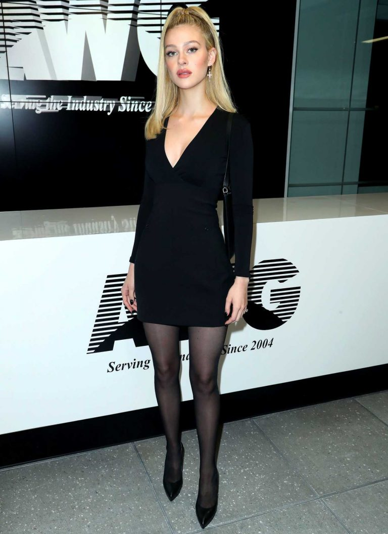 Nicola Peltz at the Alexander Wang Fashion Show During New York Fashion Week in New York City 02/10/2018-1