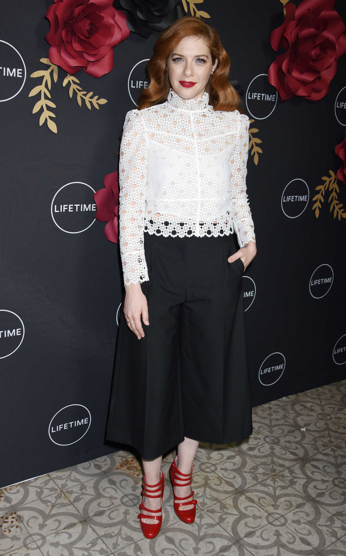 Rachelle LeFevre at Unreal and Mary Kills People Lifetime Party in Los Angeles 02/13/2018