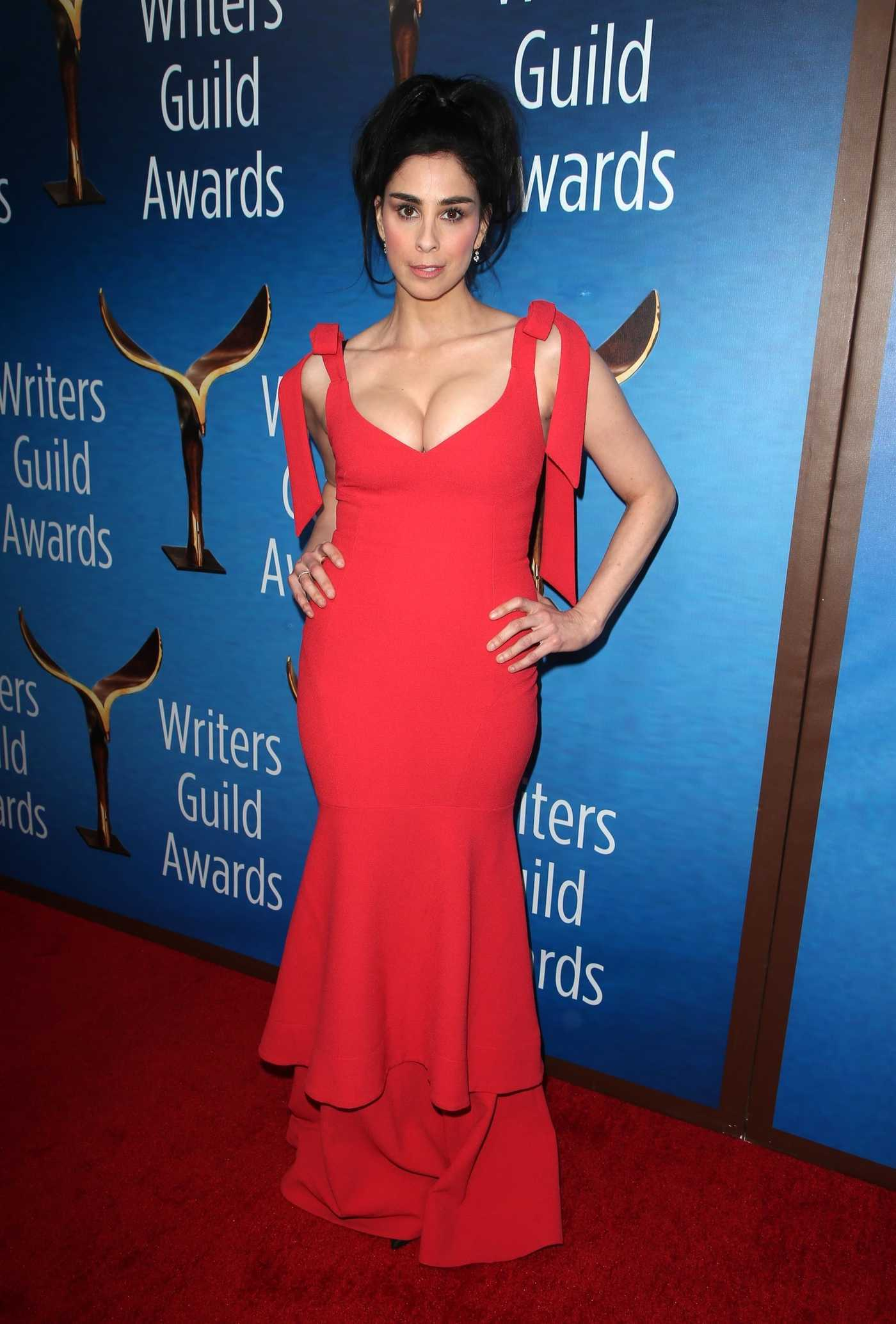 Sarah Silverman at the 70th Annual Writers Guild Awards in Beverly Hills 02/11/2018