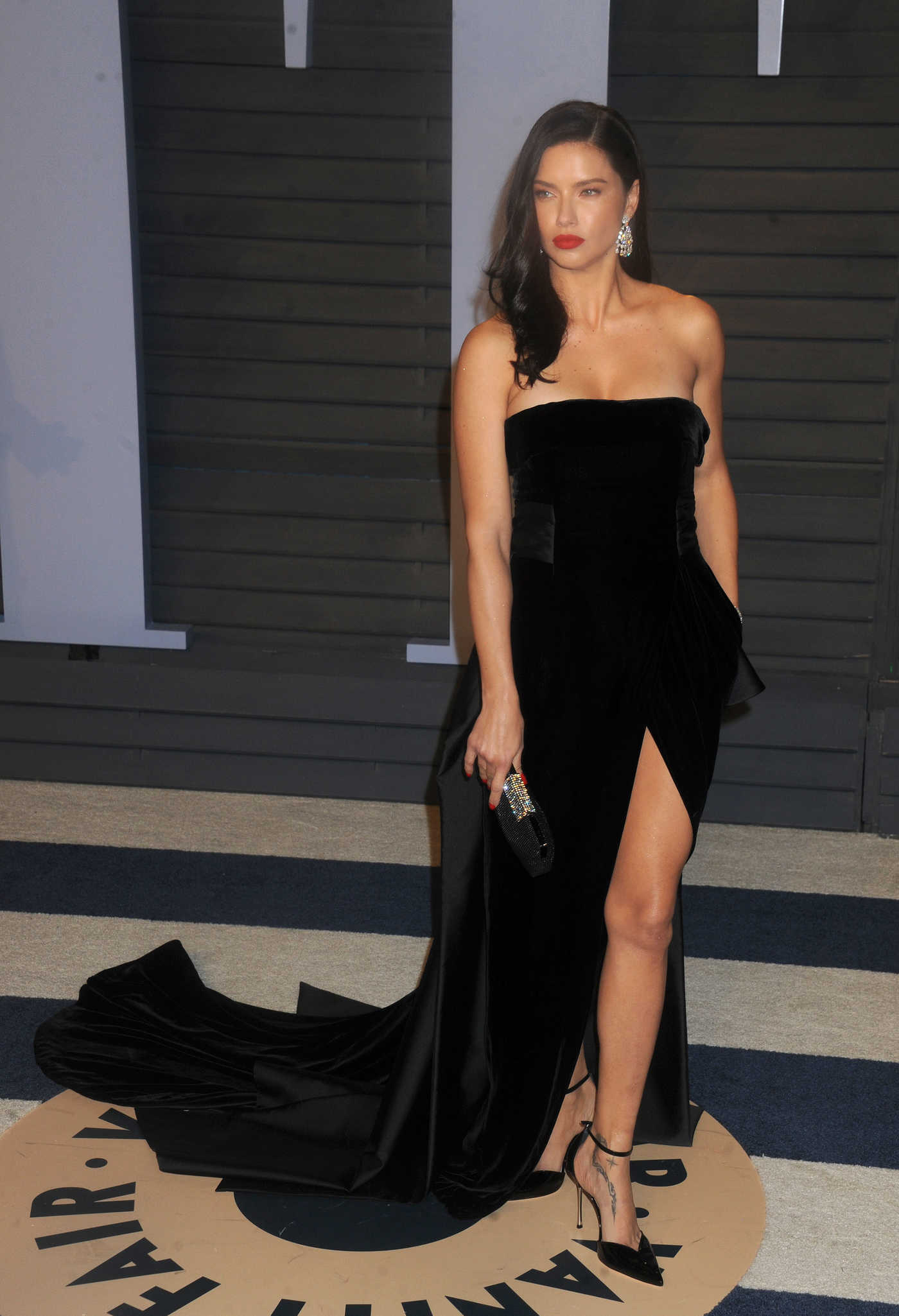 Adriana Lima at 2018 Vanity Fair Oscar Party in Beverly Hills 03/04/2018