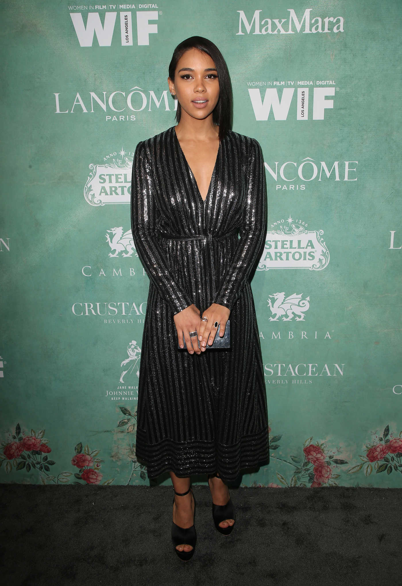 Alexandra Shipp at the 11th Annual Women in Film Pre-Oscar Cocktail Party in Beverly Hills 03/02/2018