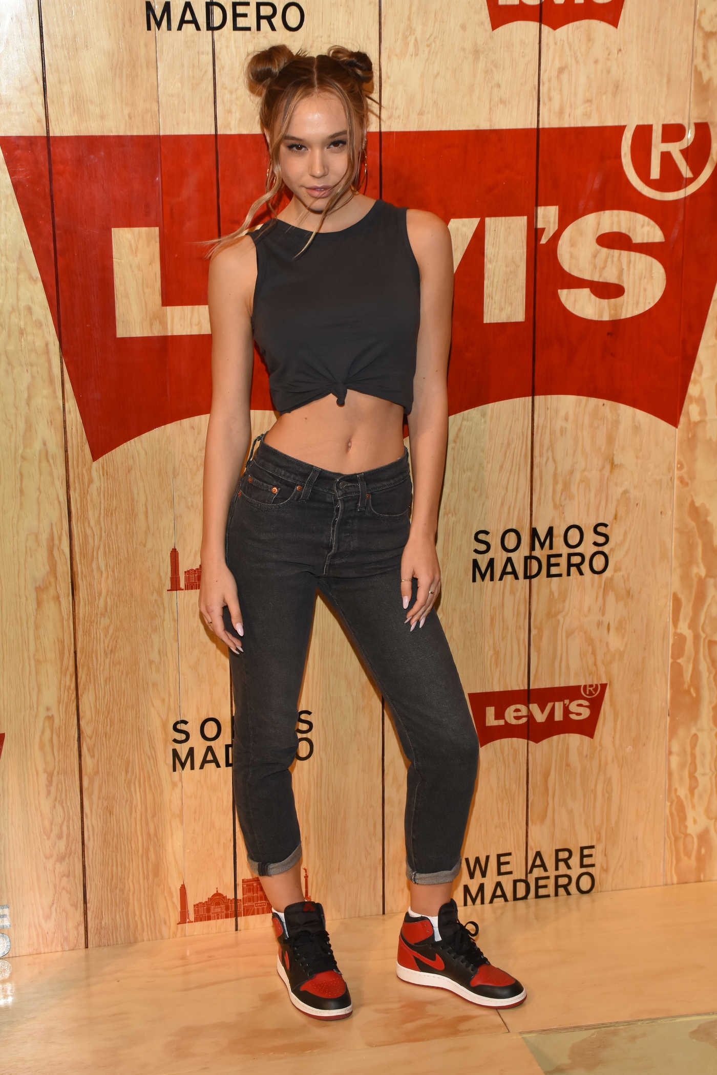Alexis Ren at the Levi's Store Opening in Mexico City 03/22/2018