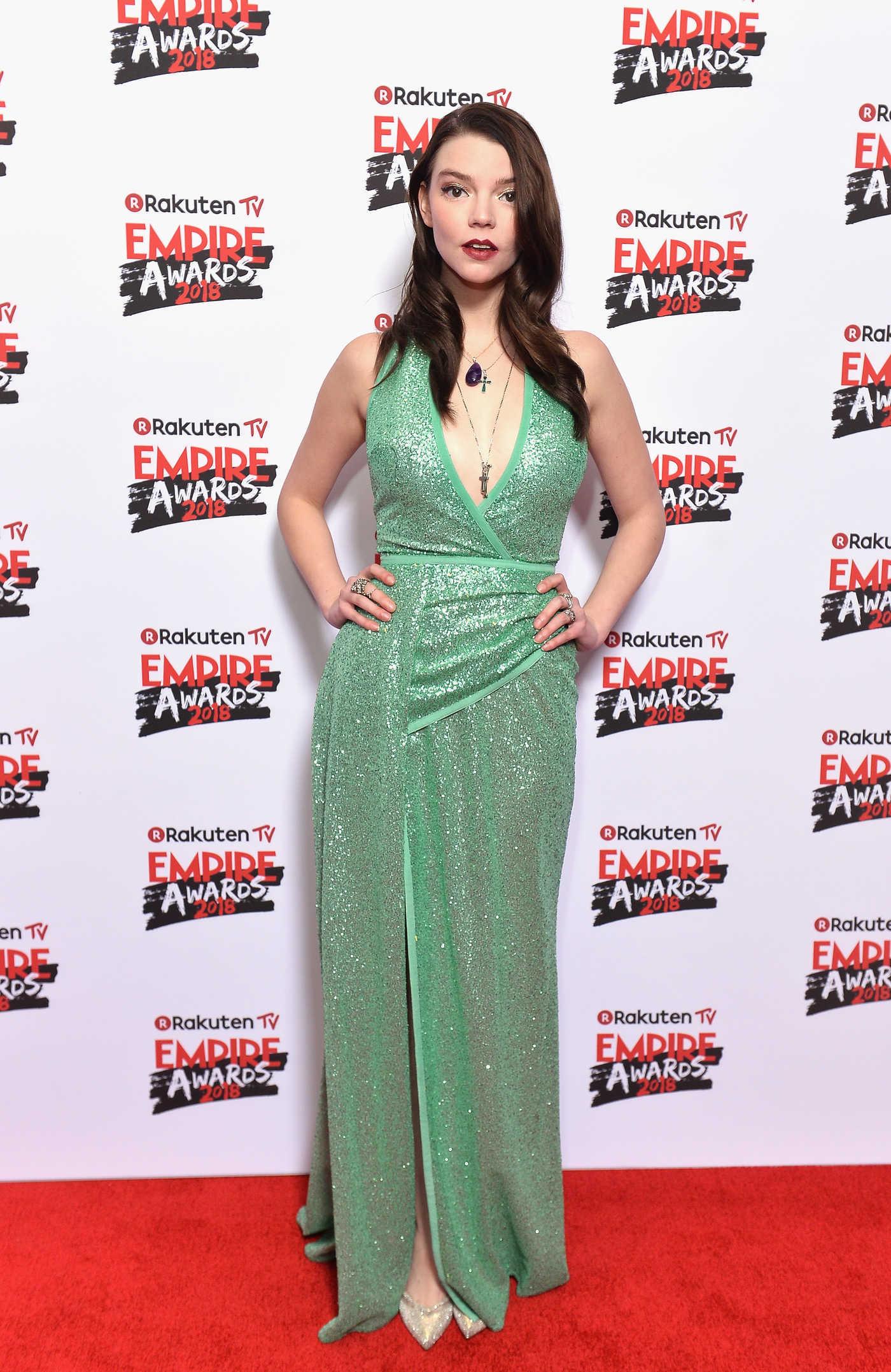 Anya Taylor-Joy at The Empire Film Awards in London 03/18/2018