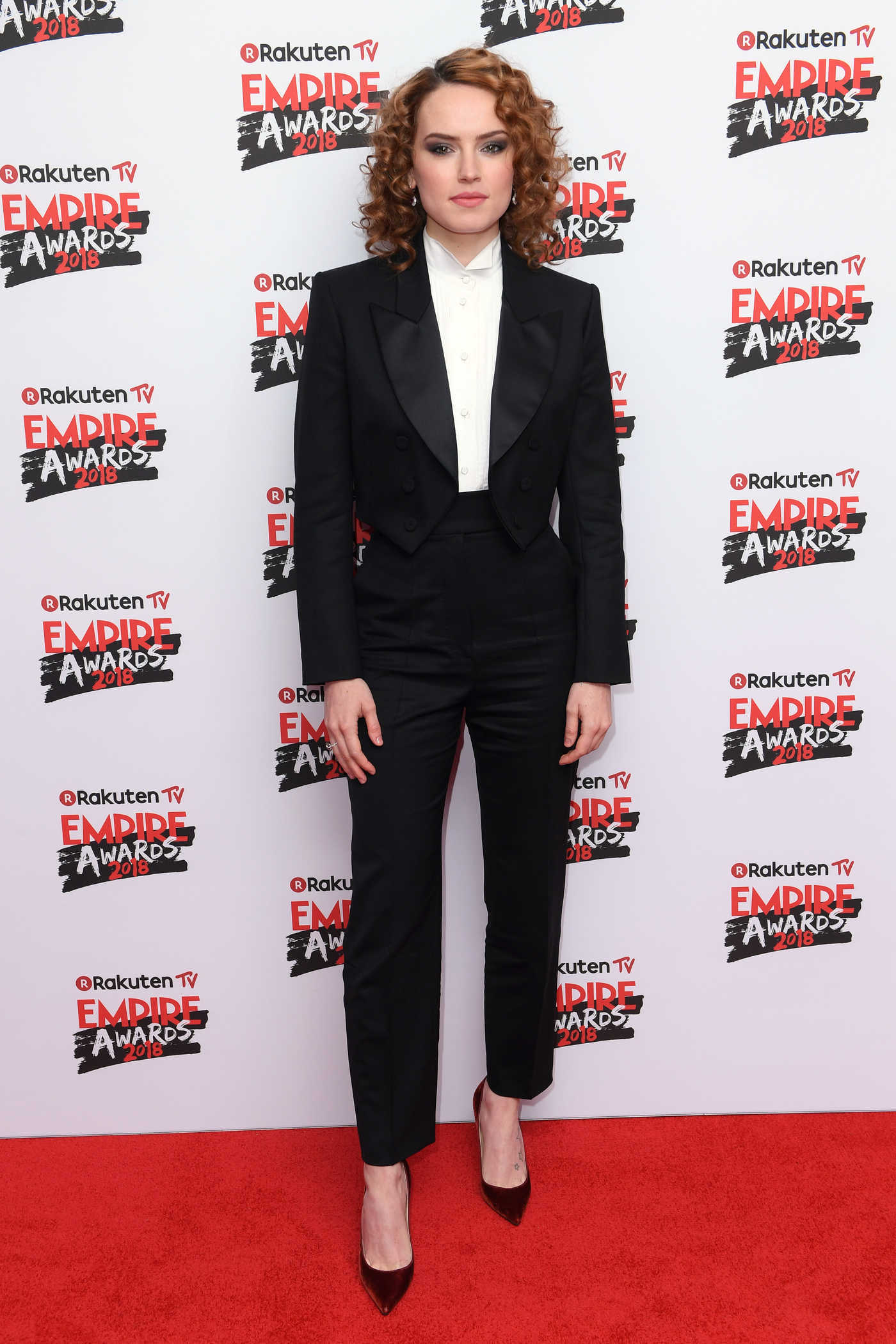 Daisy Ridley at The Empire Film Awards in London 03/18/2018