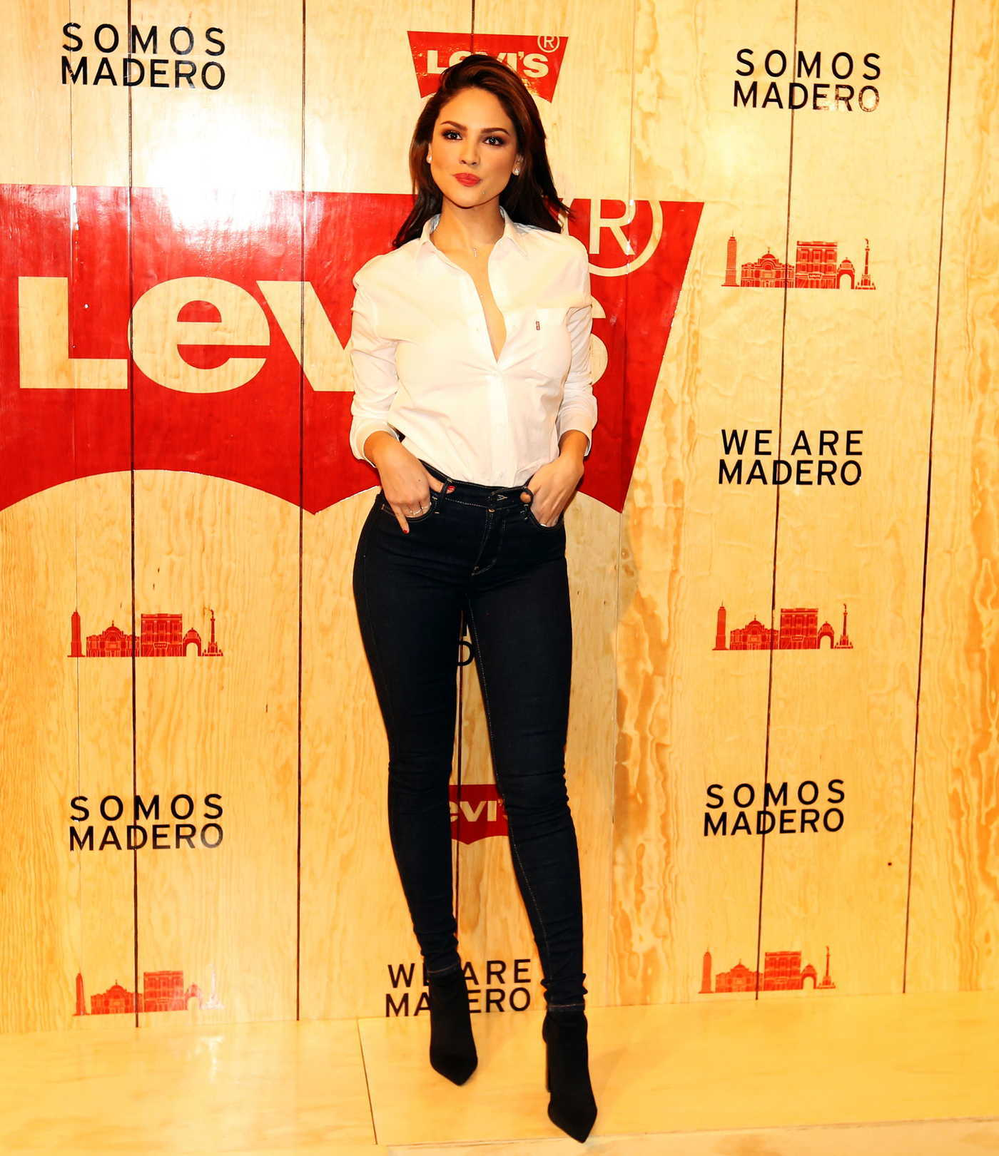 Eiza Gonzalez at the Levi's Store Opening in Mexico City 03/22/2018