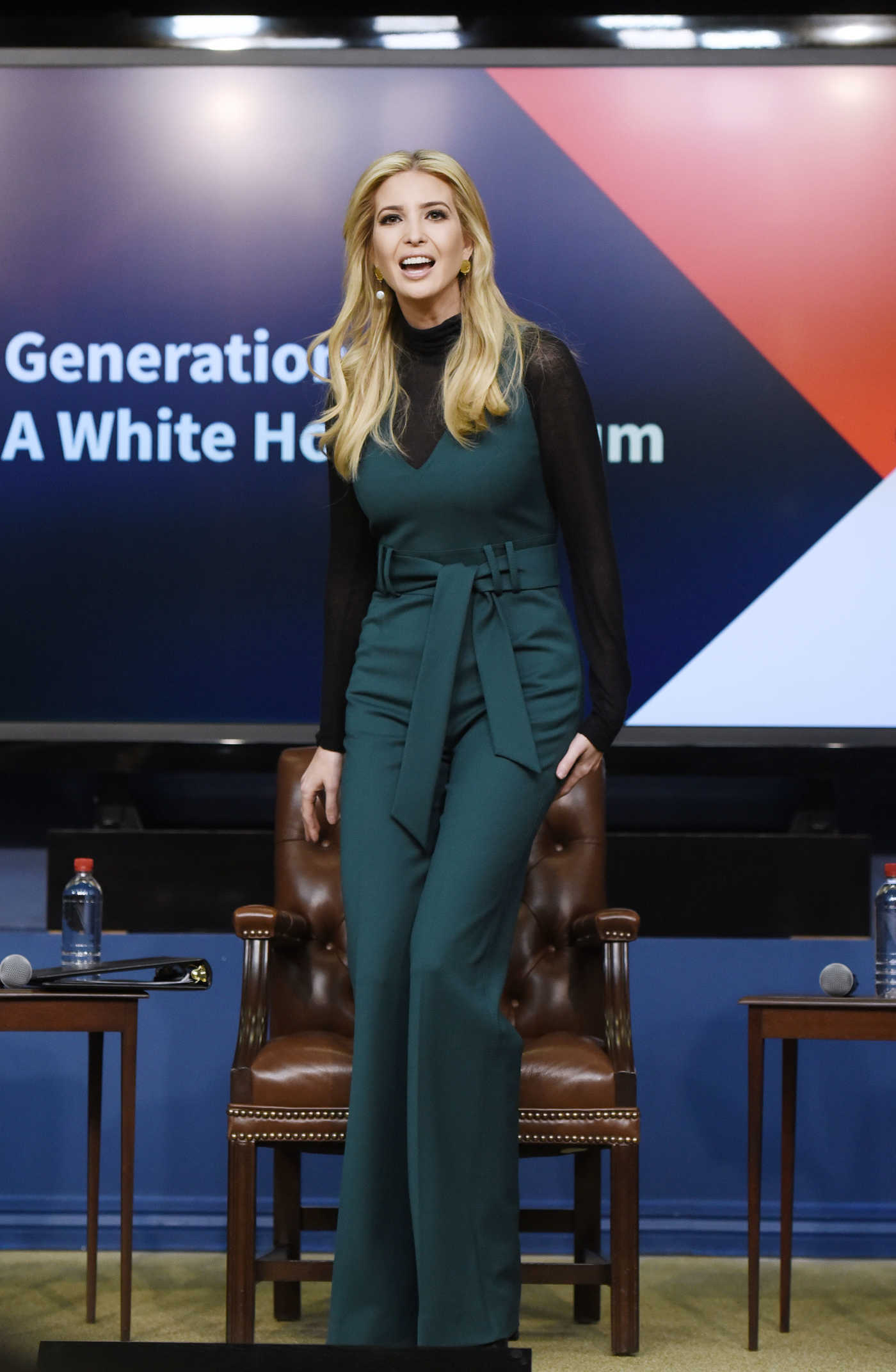 Ivanka Trump Attends Generation Next: A White House Forum in the South Court Auditorium in Washington 03/22/2018