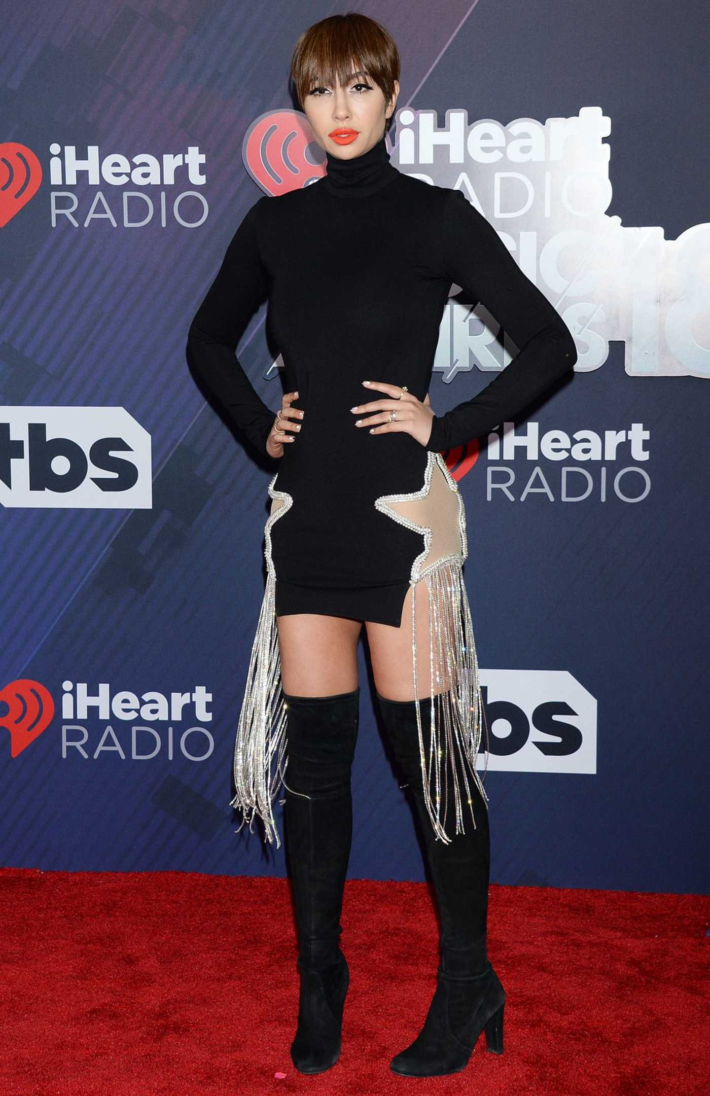 Jackie Cruz at 2018 iHeartRadio Music Awards in Inglewood 03/11/2018