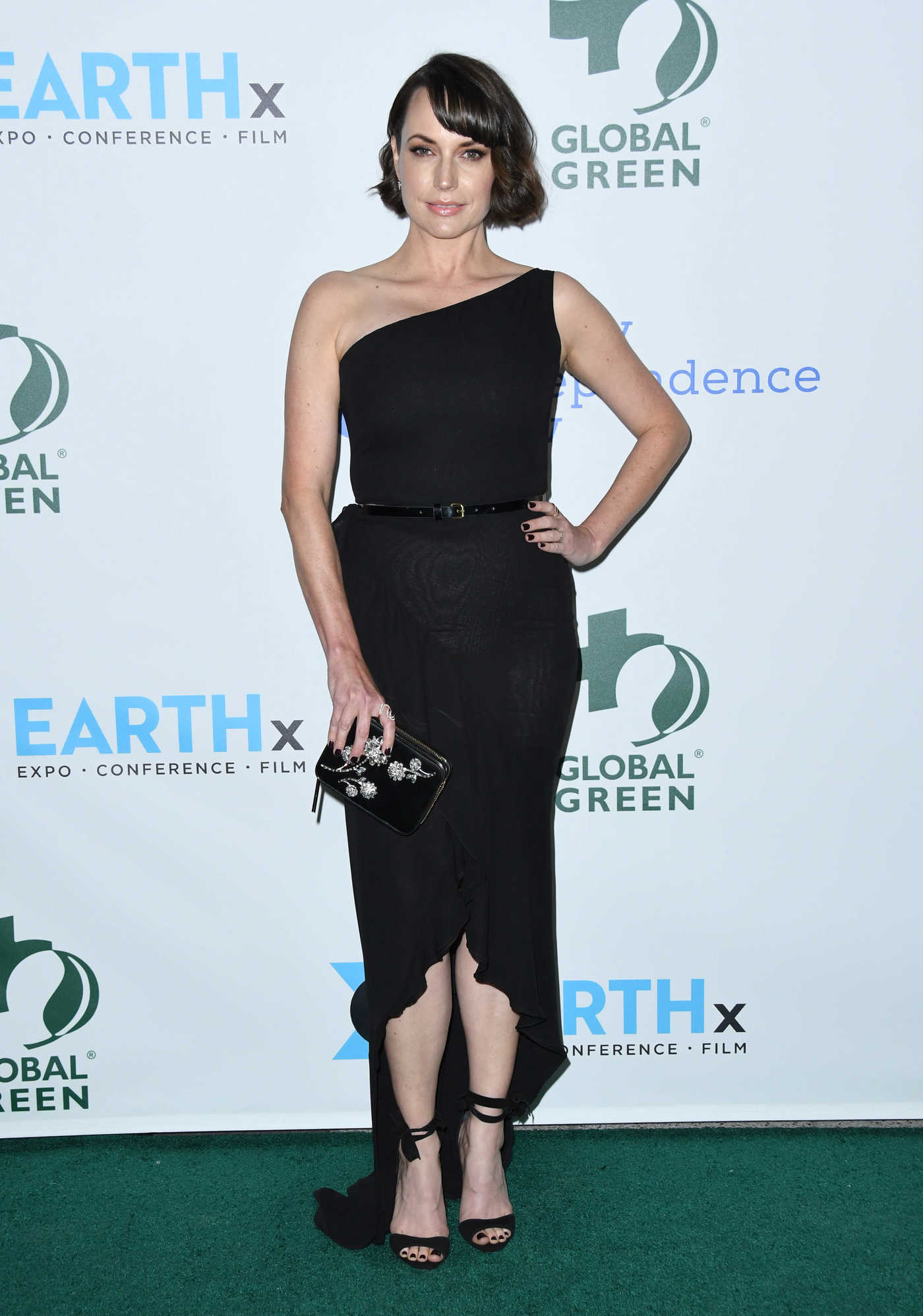 Julie Ann Emery at the 15th Annual Global Green Pre-Oscar Gala in Los Angeles 02/28/2018