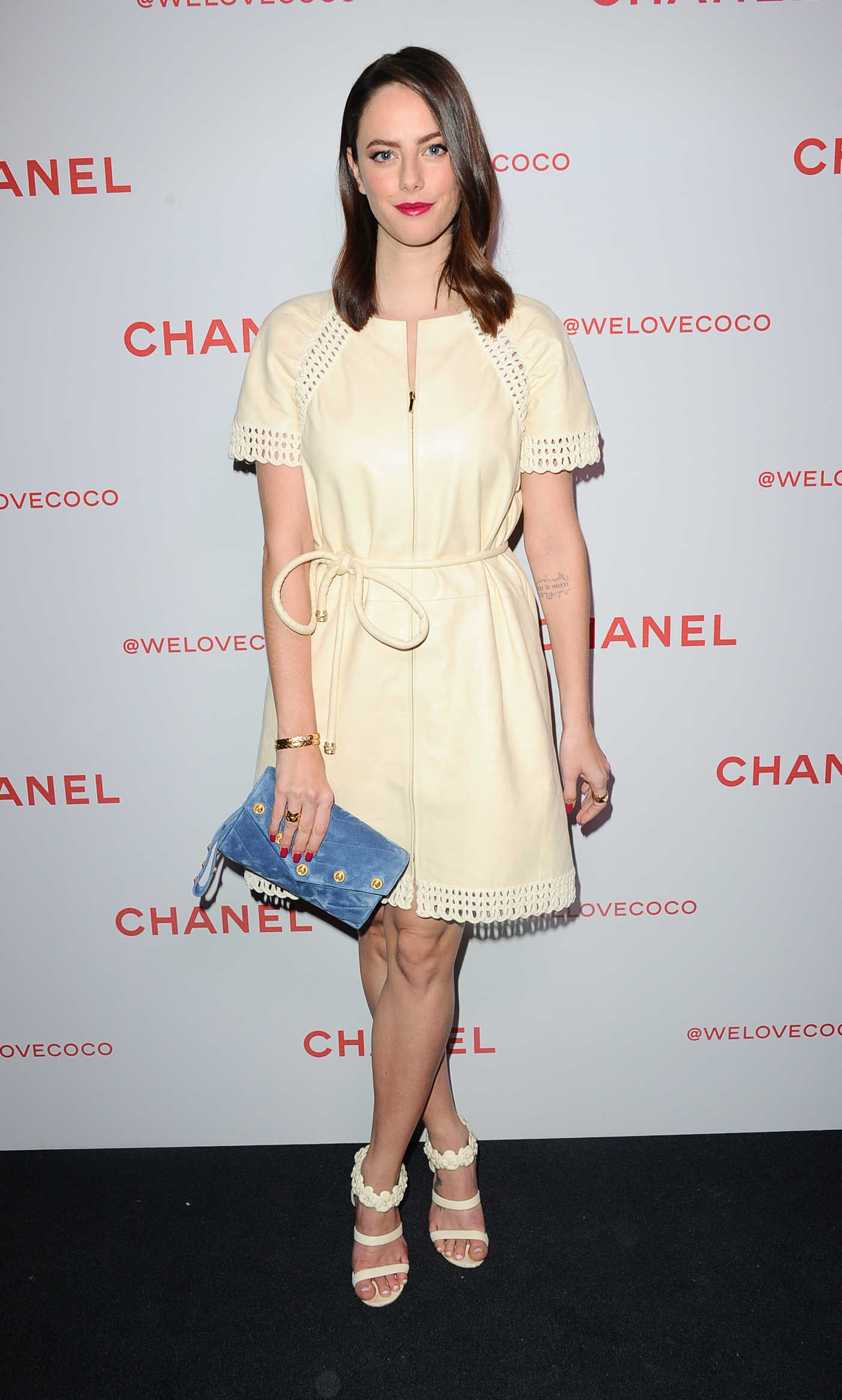 Kaya Scodelario Attends the Chanel Party to Celebrate the Chanel Beauty House in LA 02/28/2018