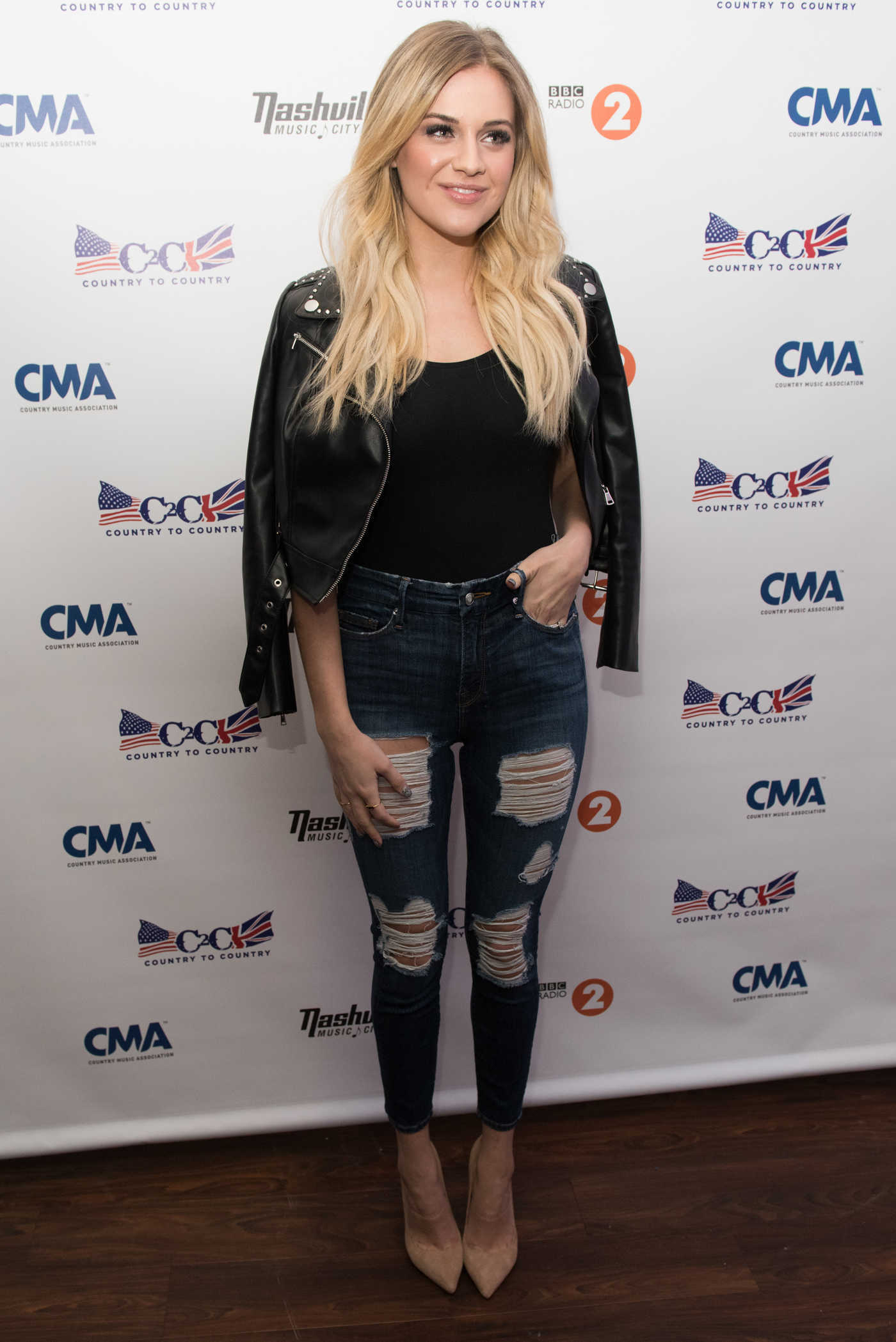Kelsea Ballerini at the C2C Country to Country Festival at the O2 Arena in London 03/09/2018