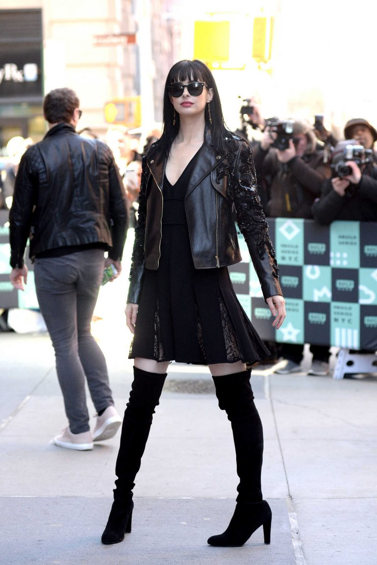 Krysten Ritter Visits Visits AOL Build Series at Build Studio in New York City 03/06/2018-1