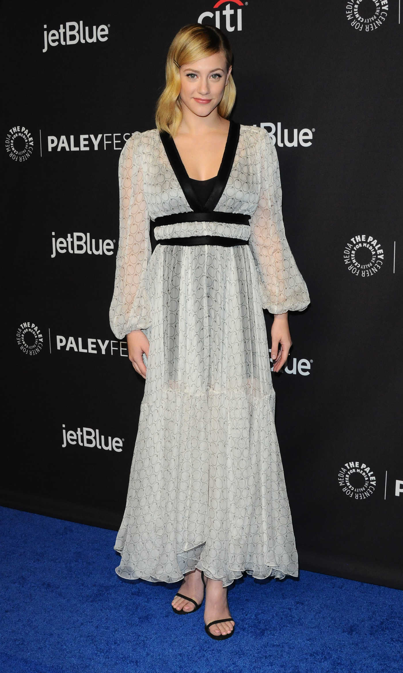 Lili Reinhart at the Riverdale TV Show Presentation During the Paleyfest in Los Angeles 03/25/2018